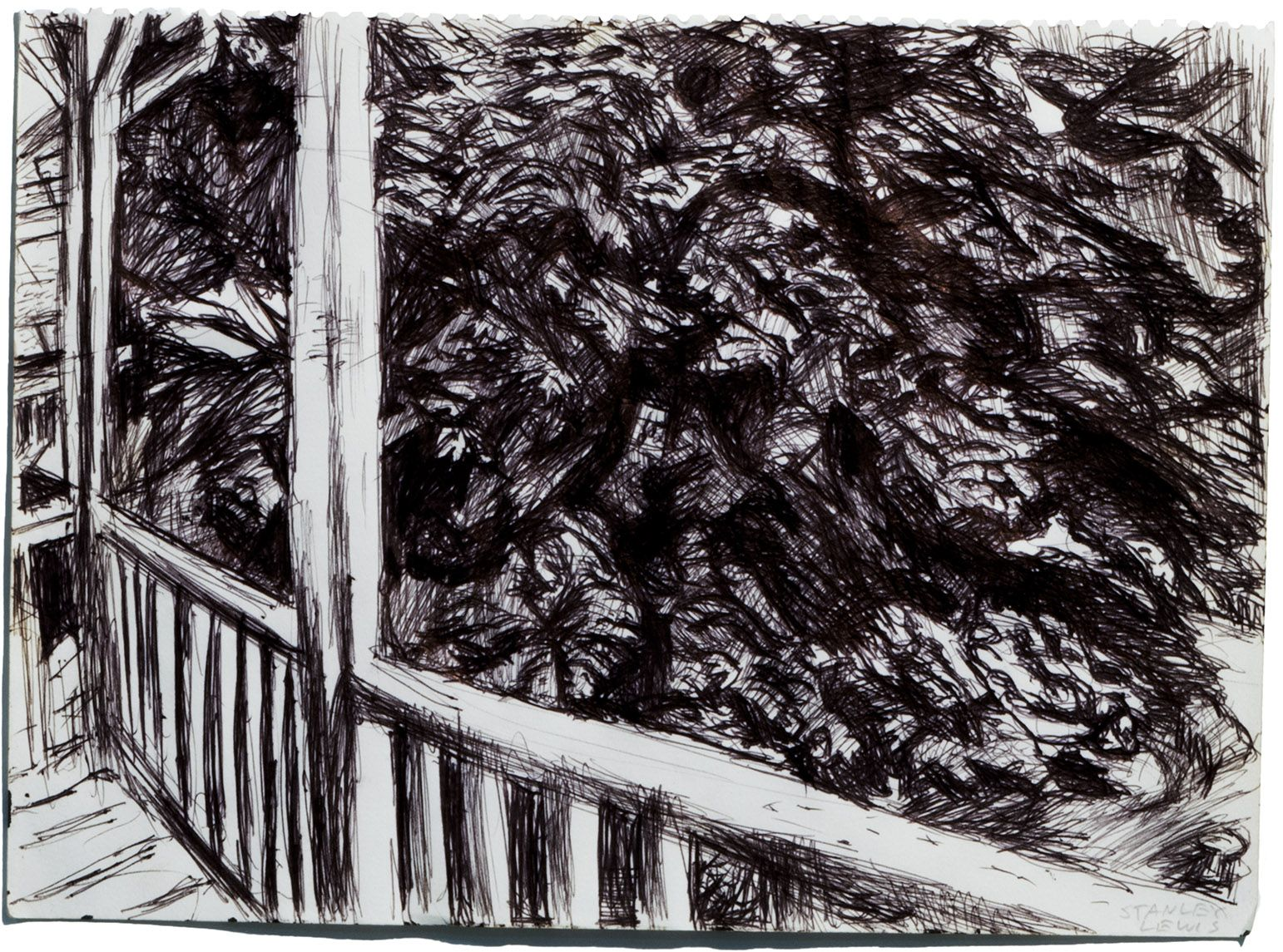 View from Karen's Balcony, c. 2000