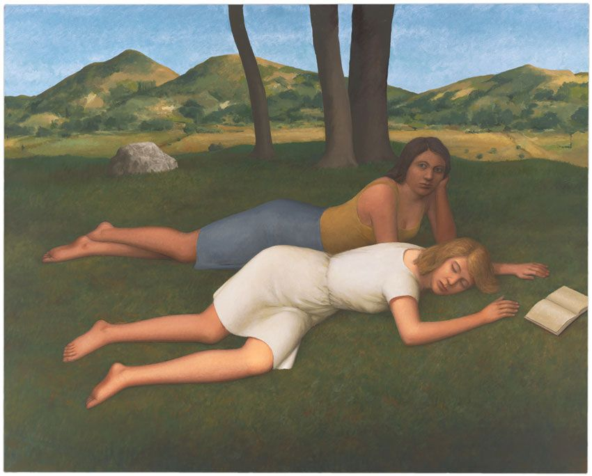 Afternoon in Umbria, 2010, Oil on canvas