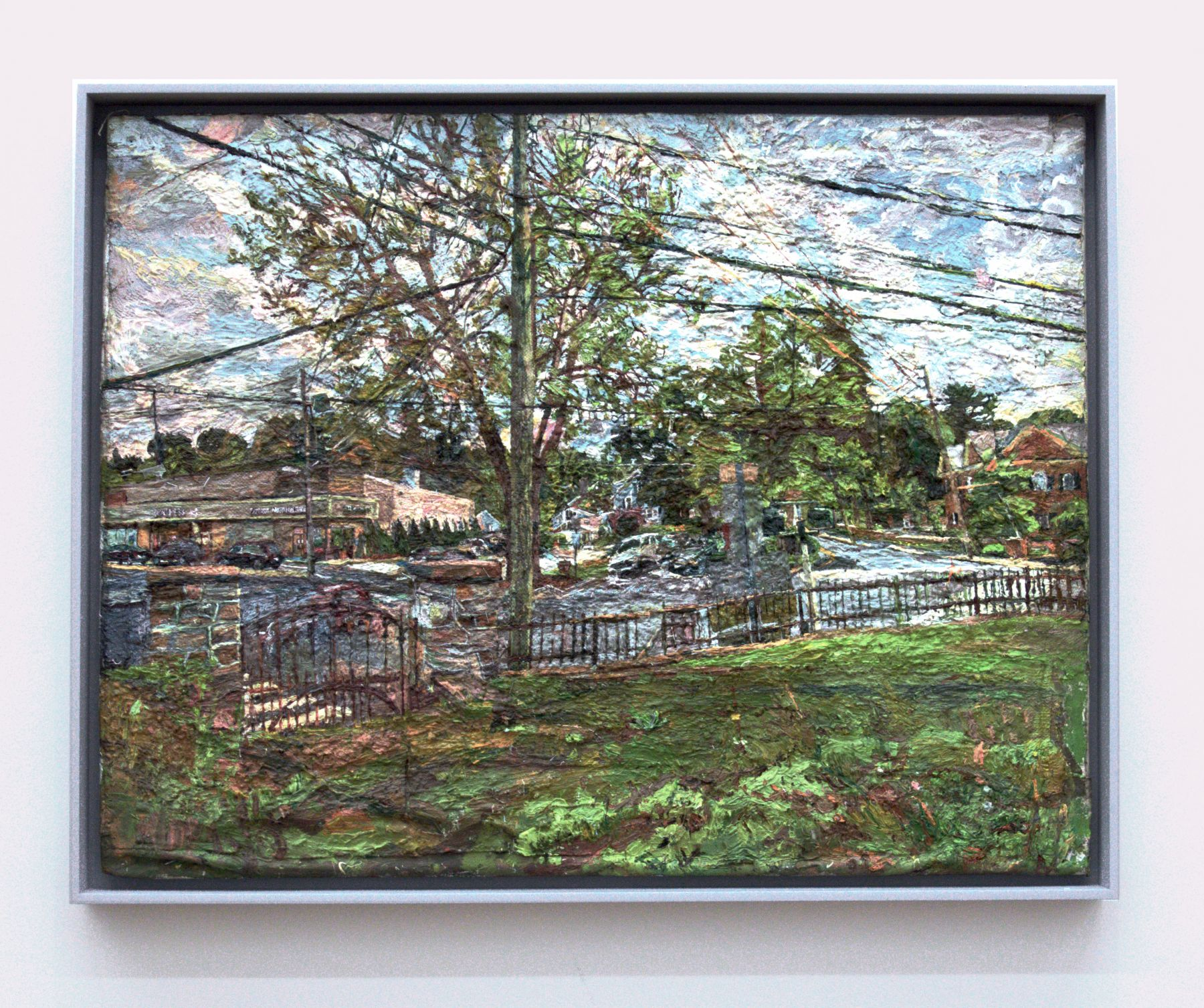 Winslow Park, Westport, 2010-2014, Oil on Canvas