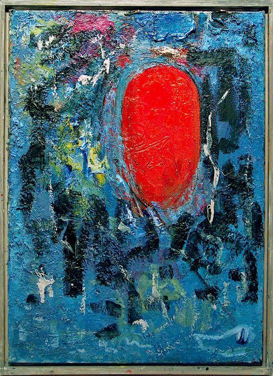 Jake Berthot Red Point (Form for Brancusi), 1991