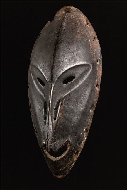 LOWER SEPIK SPIRIT MASK, PAPUAN NEW GUINEA,, MELANESIA, COASTAL REGION, ca. 19th - 20th cent.