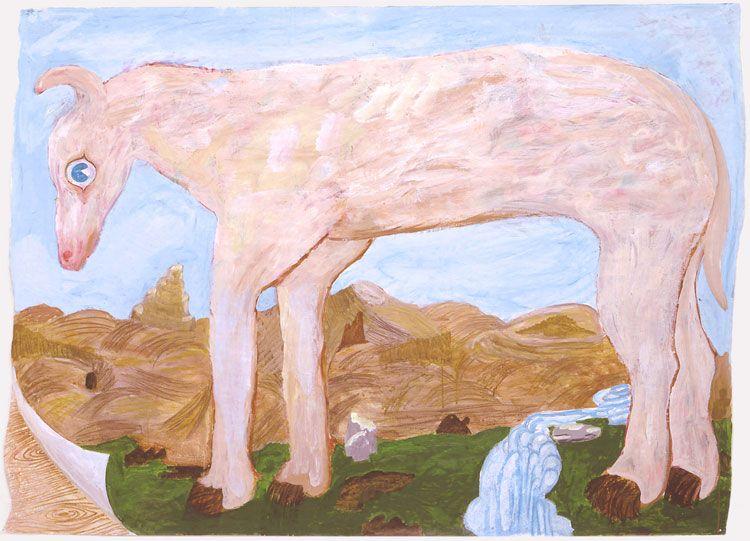 Charles Garabedian, Mythical Beast, 2003-04