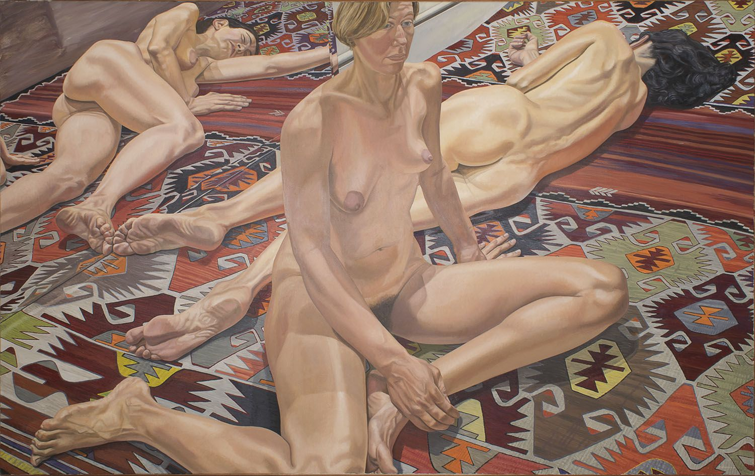 Philip Pearlstein Two Models and Reflections, 1985