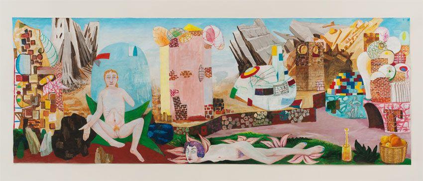 Venusberg, 2011, Acrylic on paper