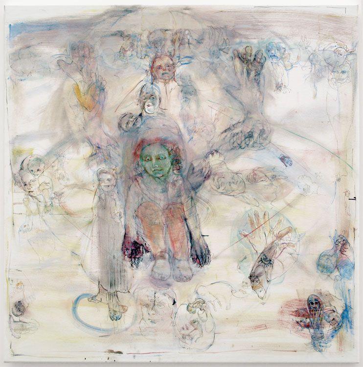 GREEN TARA, 2008, Oil on canvas