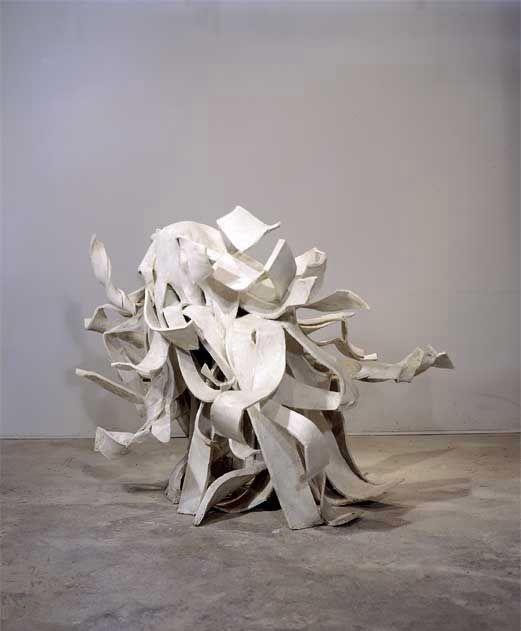 CARMELITE I, 2004, Felt and resin