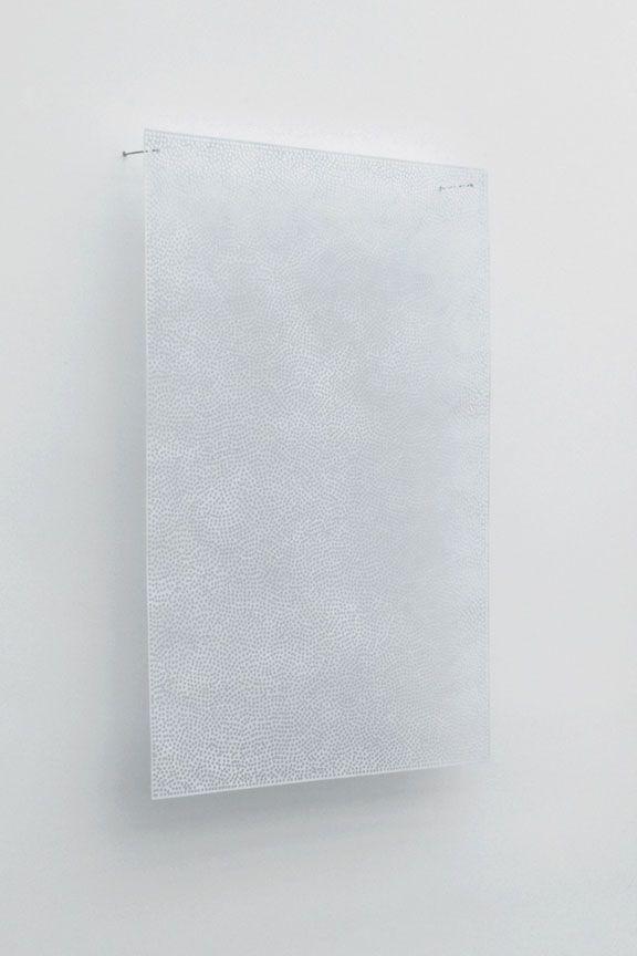 Clytie Alexander, DIAPHAN 38, WHITE/WHITE, 2008