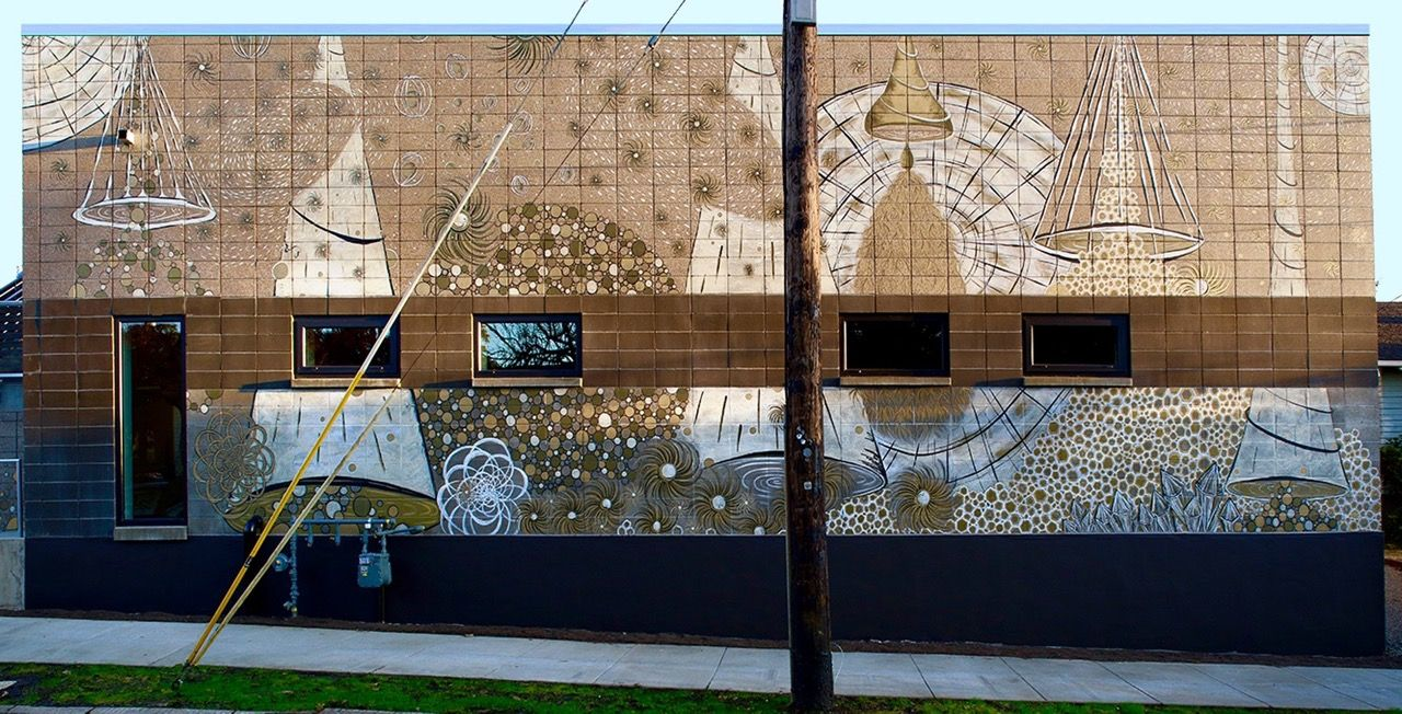 Dana Lynn Louis - Drawing Breath - Breathe Building Portland