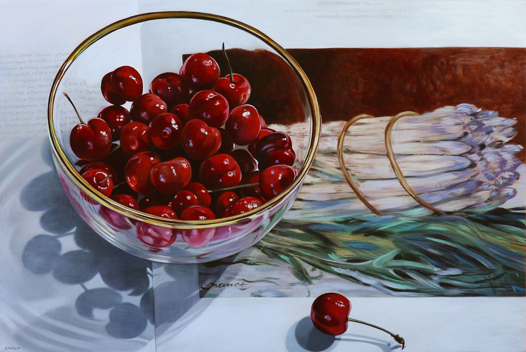 Wolf - Cherries with Asparagus