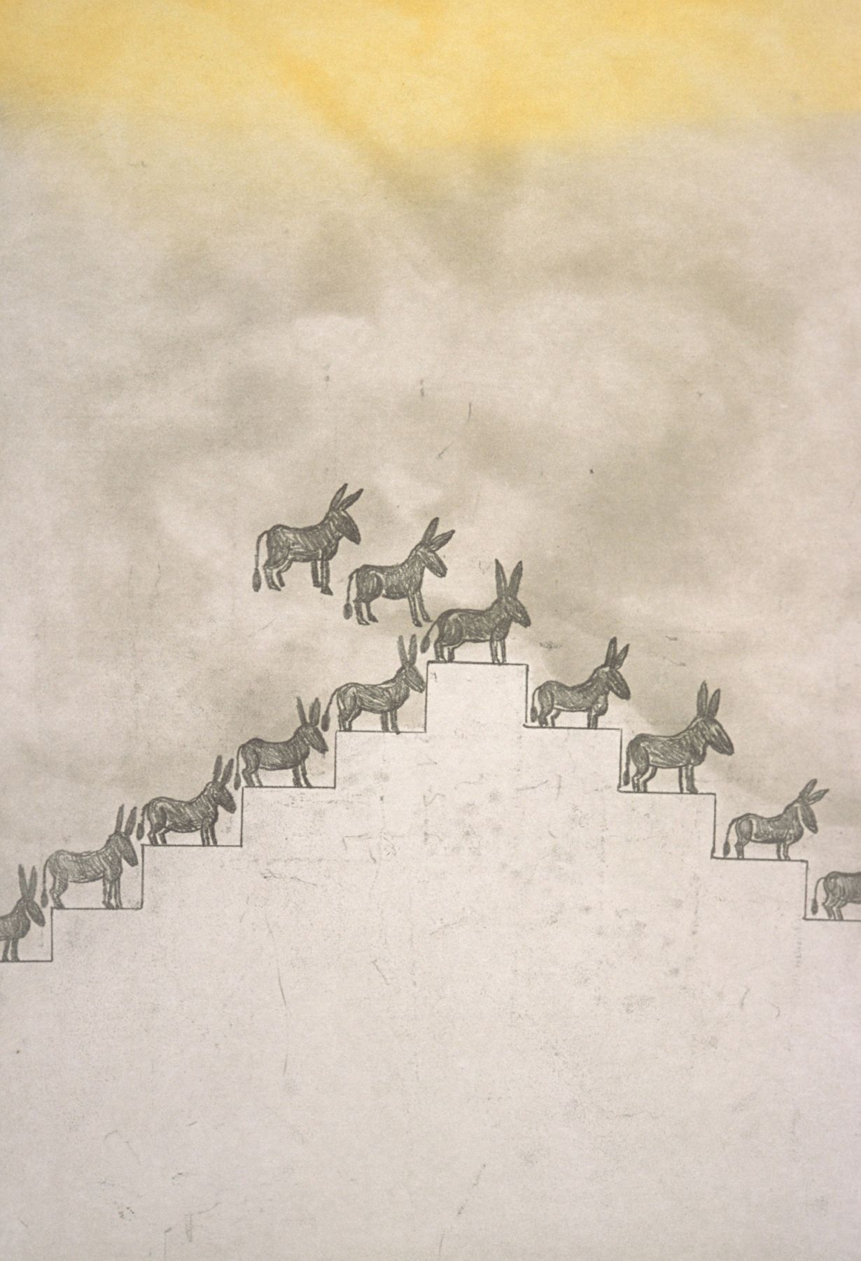 Pyramid of Donkeys (1/35)