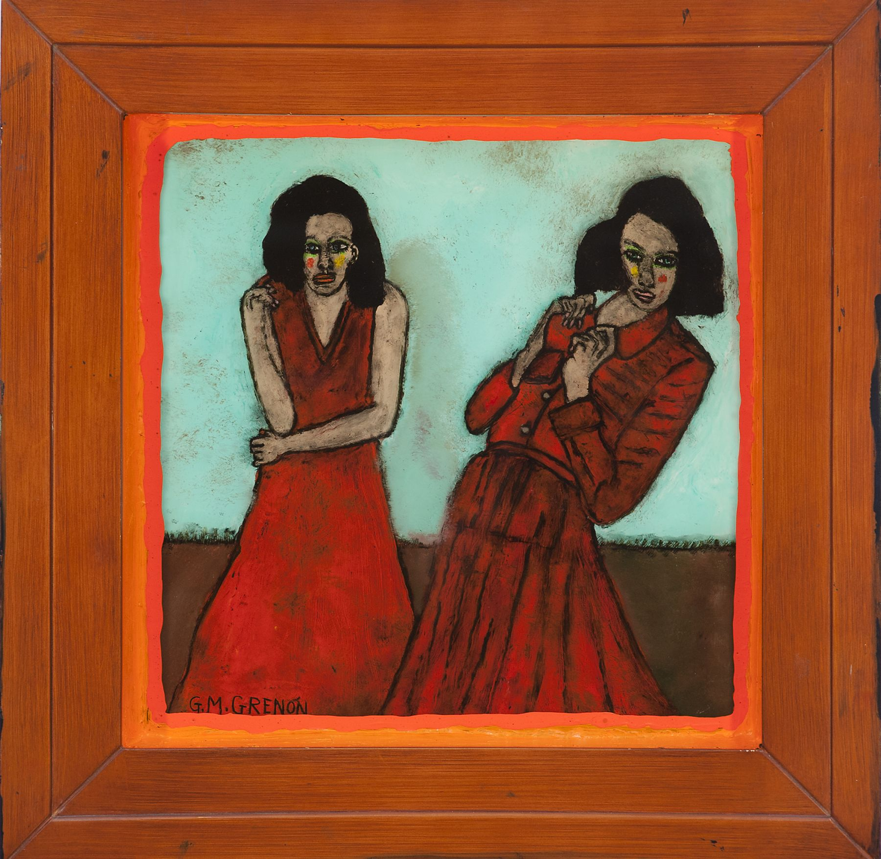 Grenon - Red Dresses