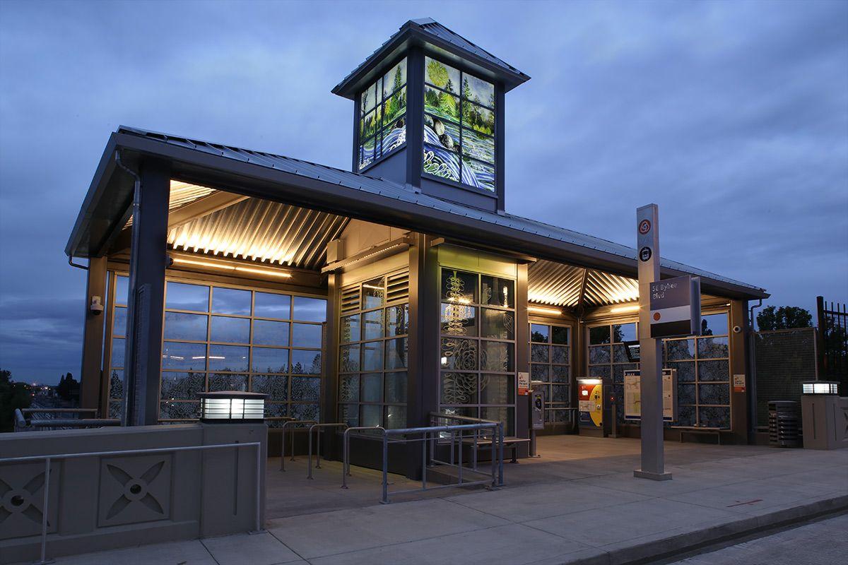 Dana Lynn Louis - Crystallization - Bybee Trimet Station
