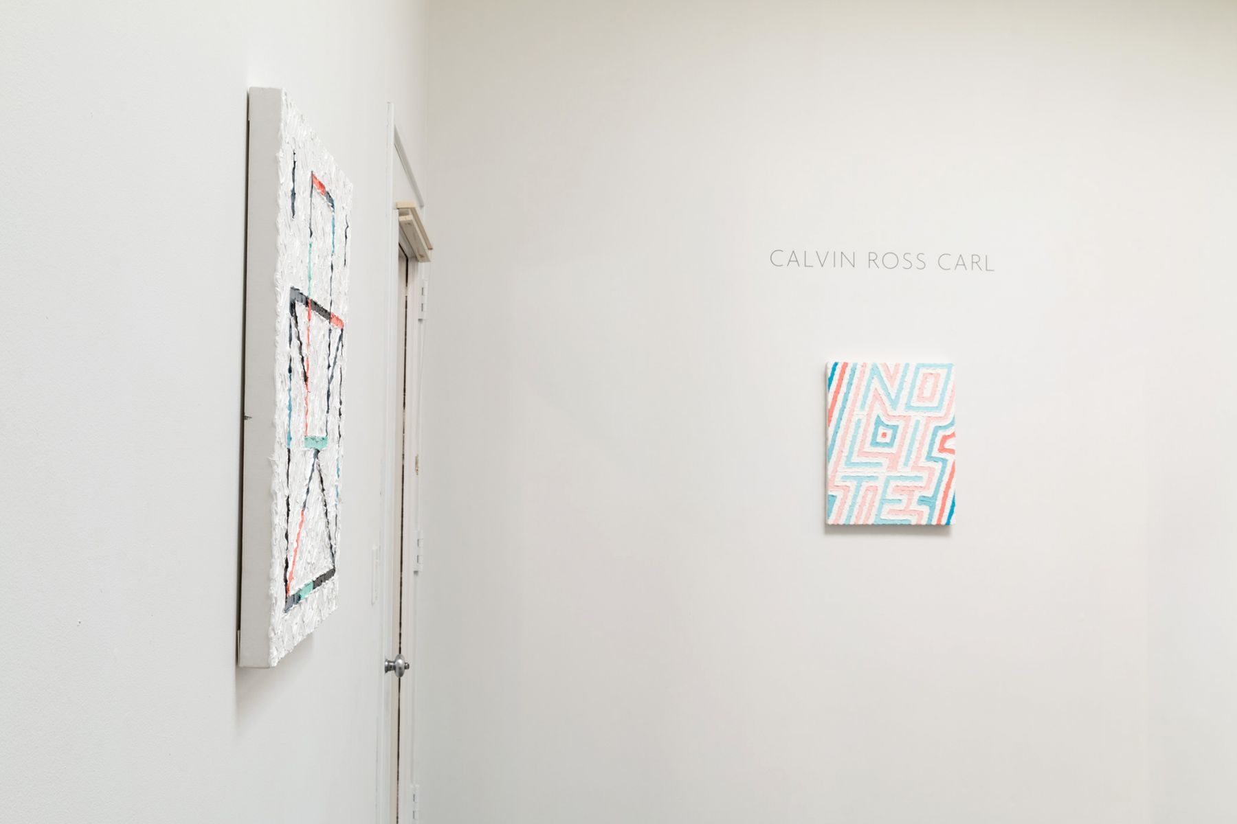 Calvin Ross Carl | I Am Here Until I Am Not | Installation View