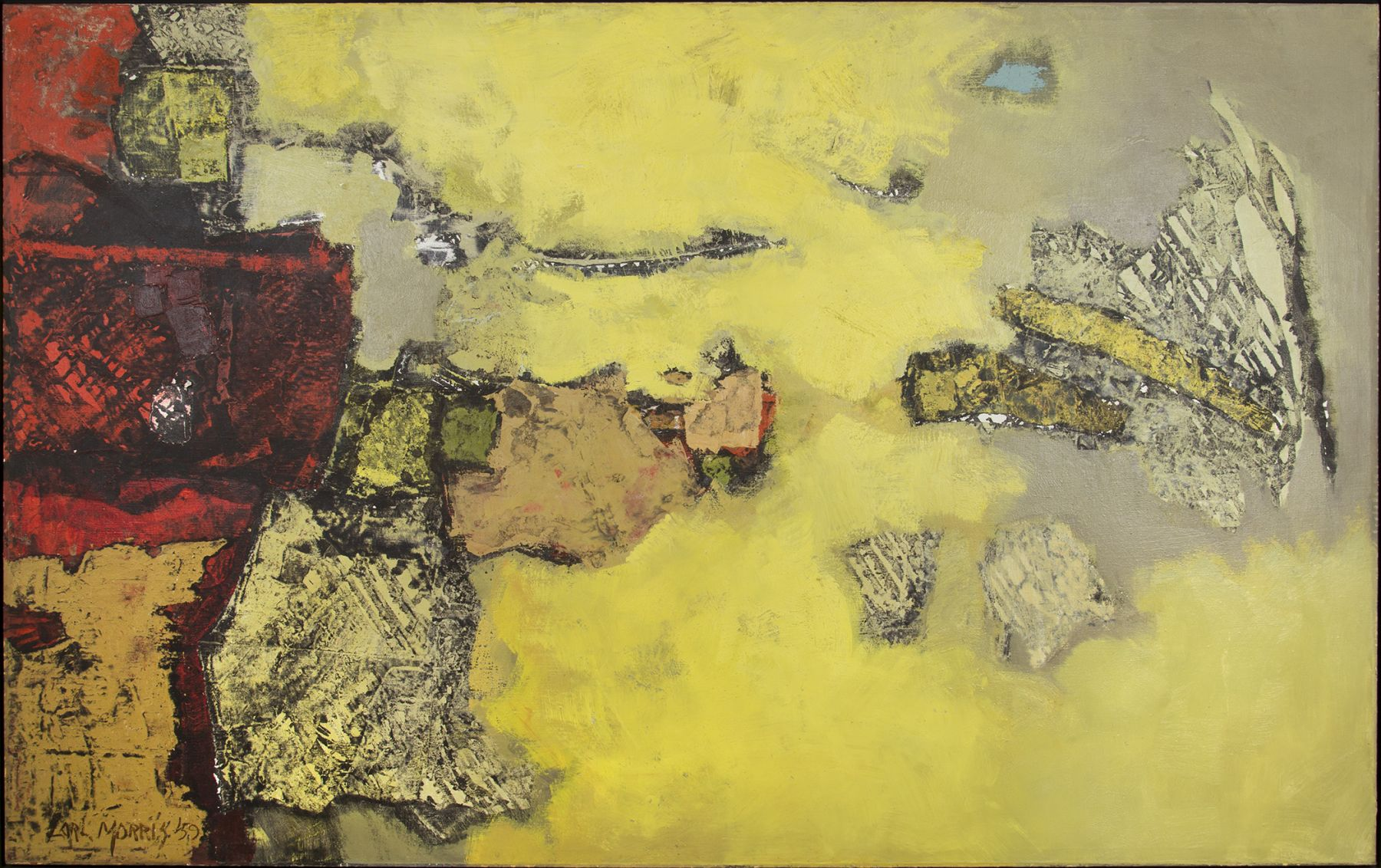 Carl Morris - Yellow Light