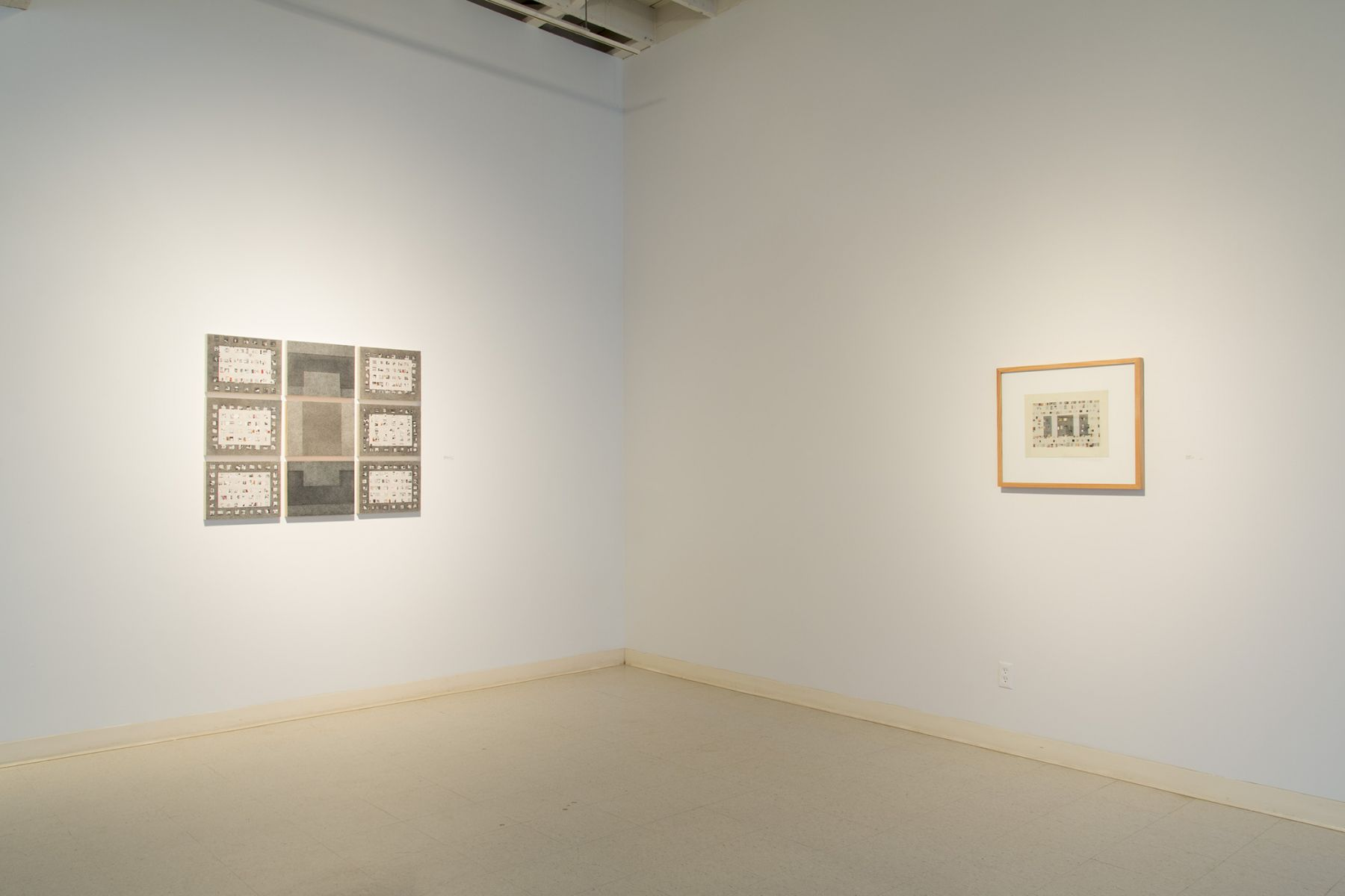 Marlene Bauer | August - Installation View