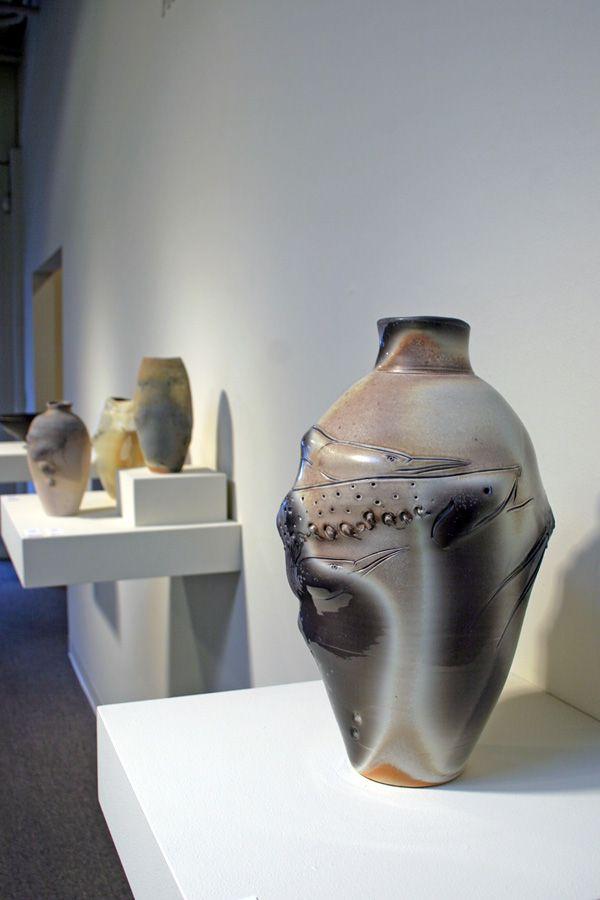 Frank Boyden ceramics at Laura Russo Gallery December 2011