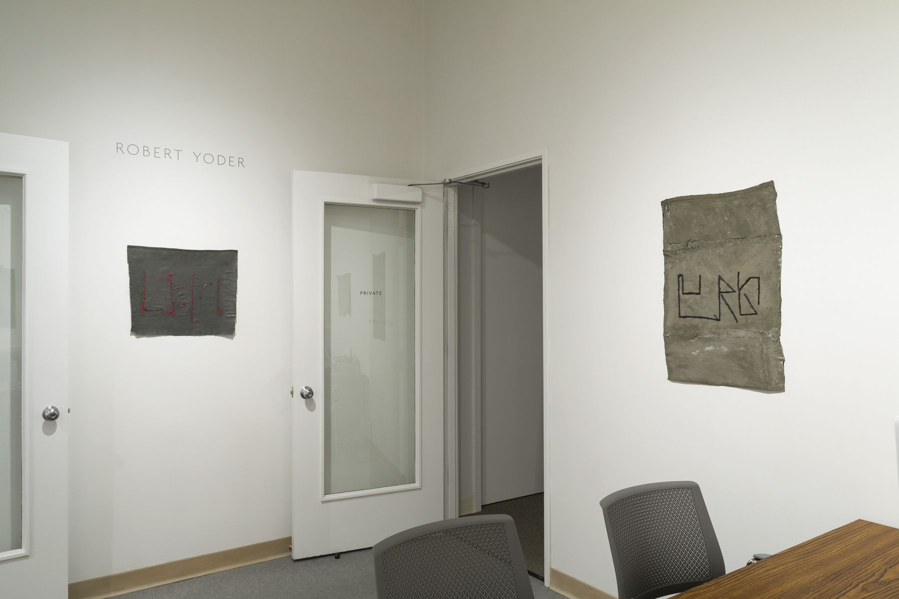 Robert Yoder | Club Number | Installation View 5
