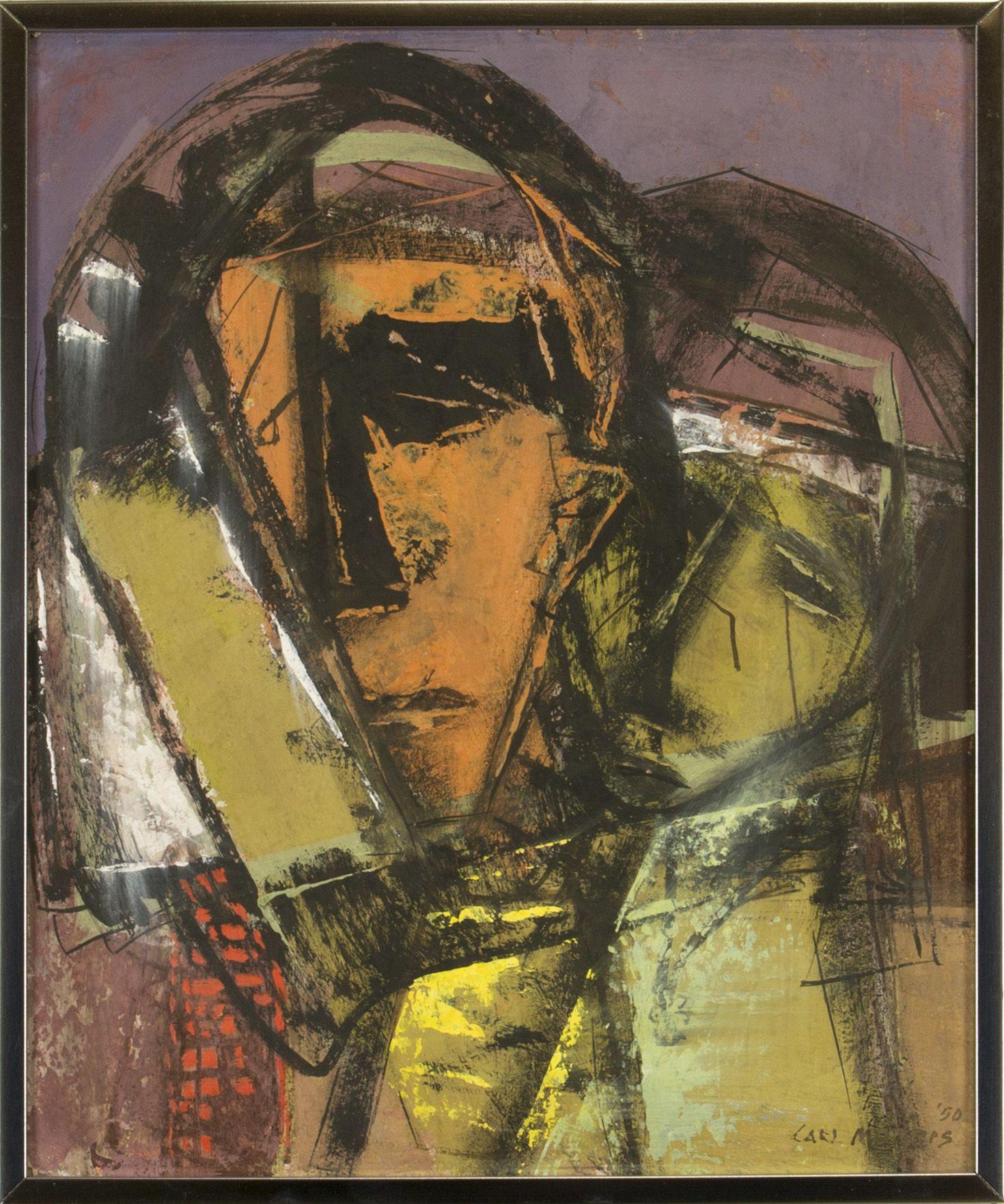 Carl Morris - Double Portrait