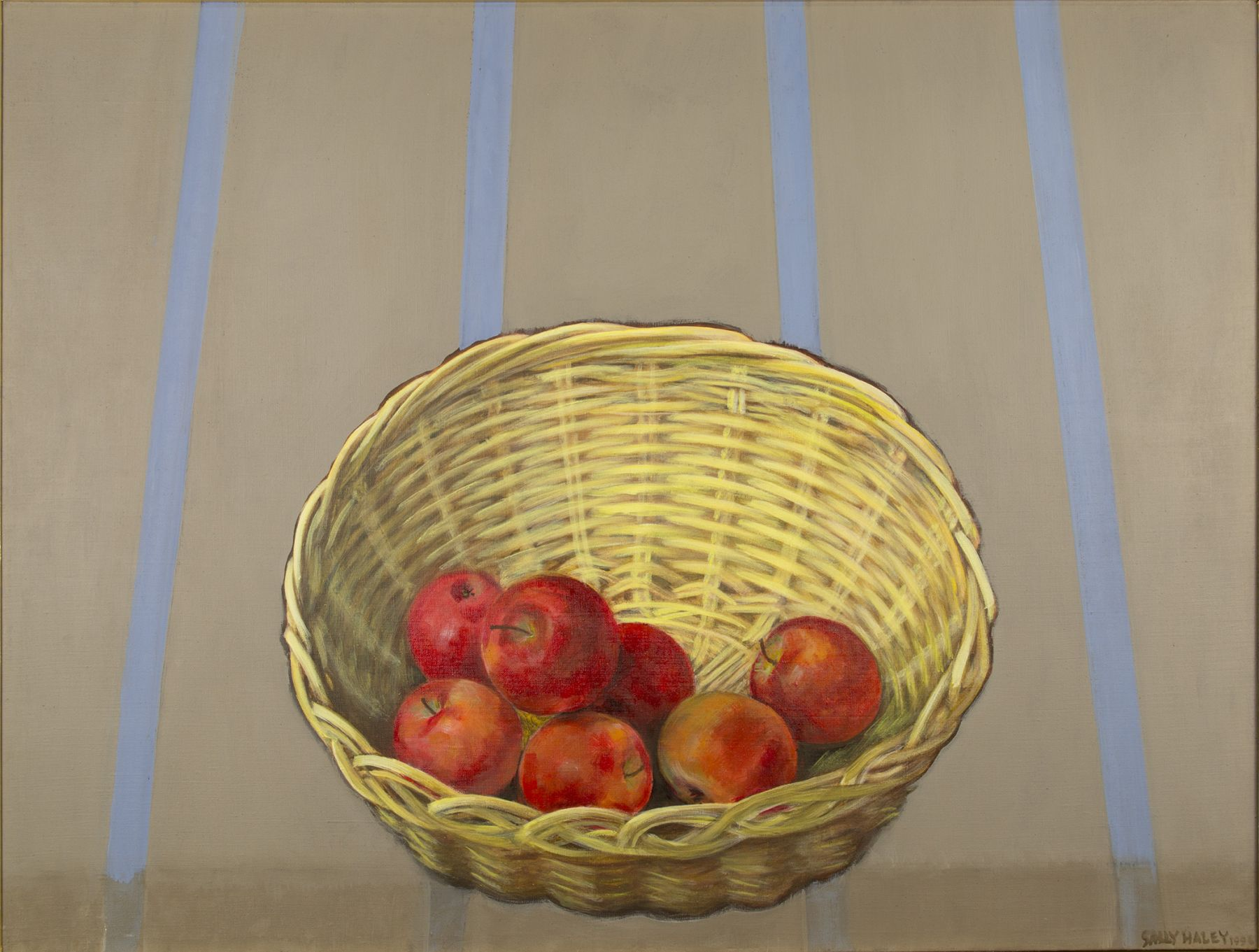 Haley - basket with red apples
