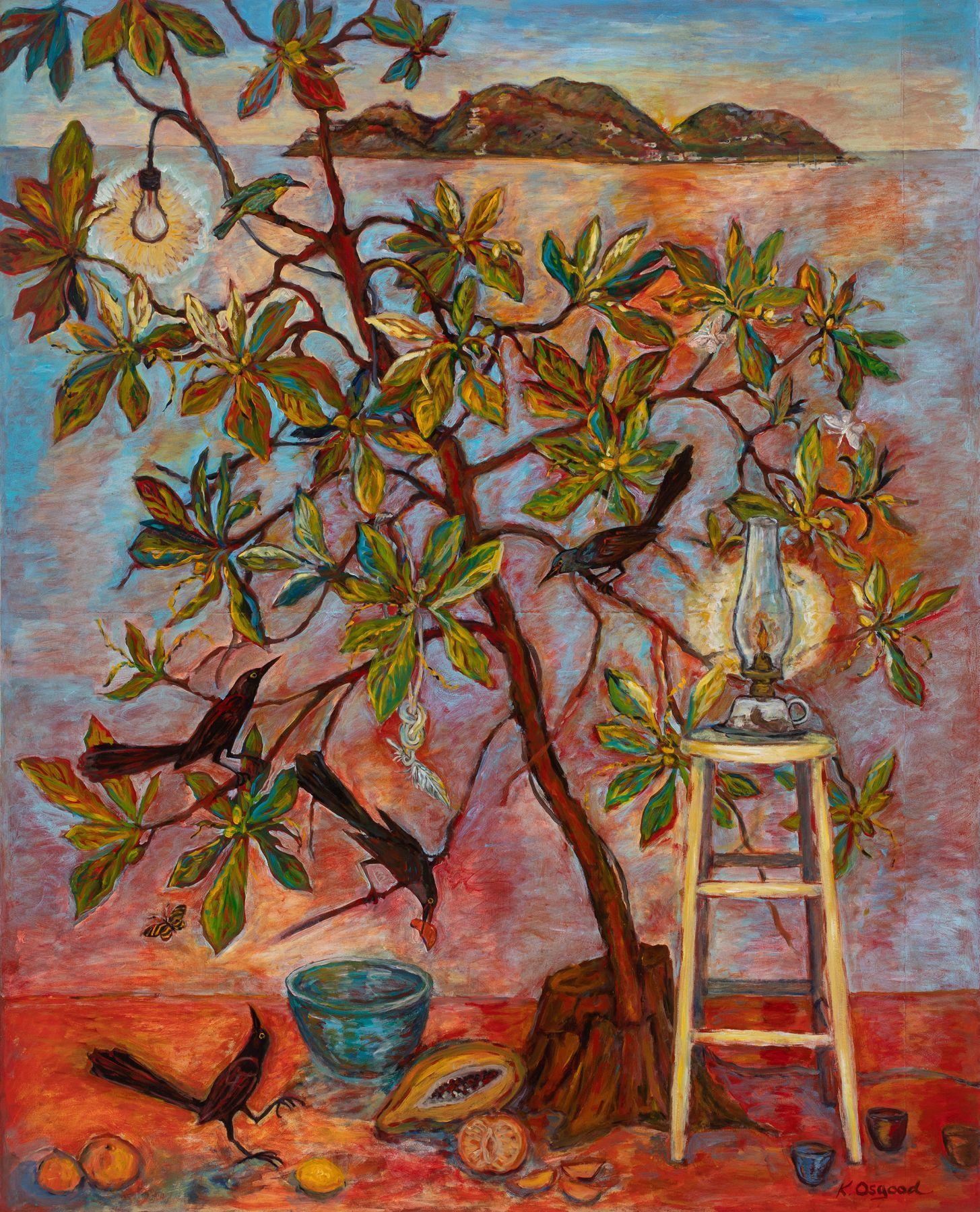 Osgood - Tree of Life, Evening Light