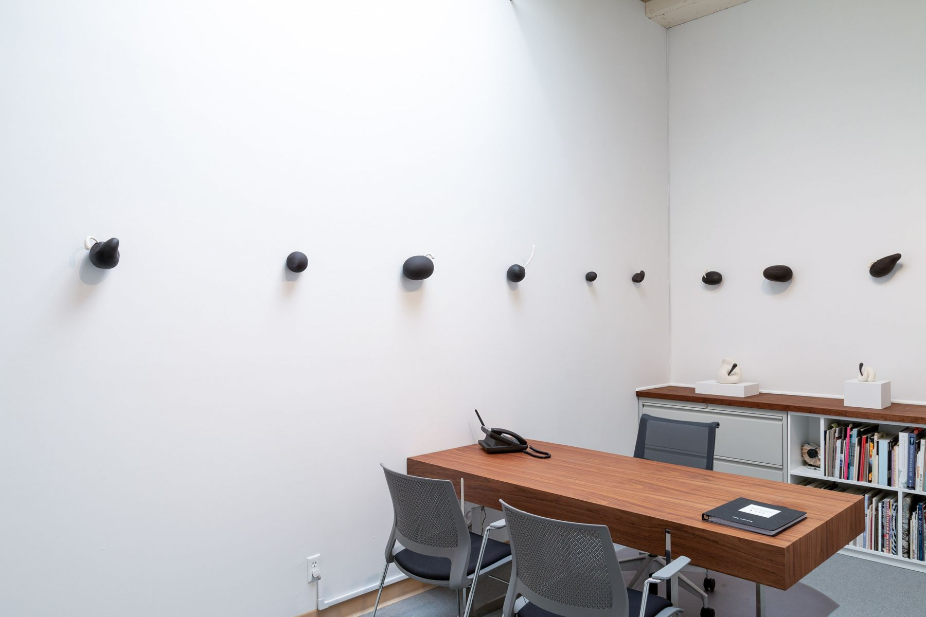 """Maya Vivas - selections from """"i have no choice but to suck the juice out, and who am i to blame"""" - July/August 2019 - Russo Lee Gallery - Installation view 02"""