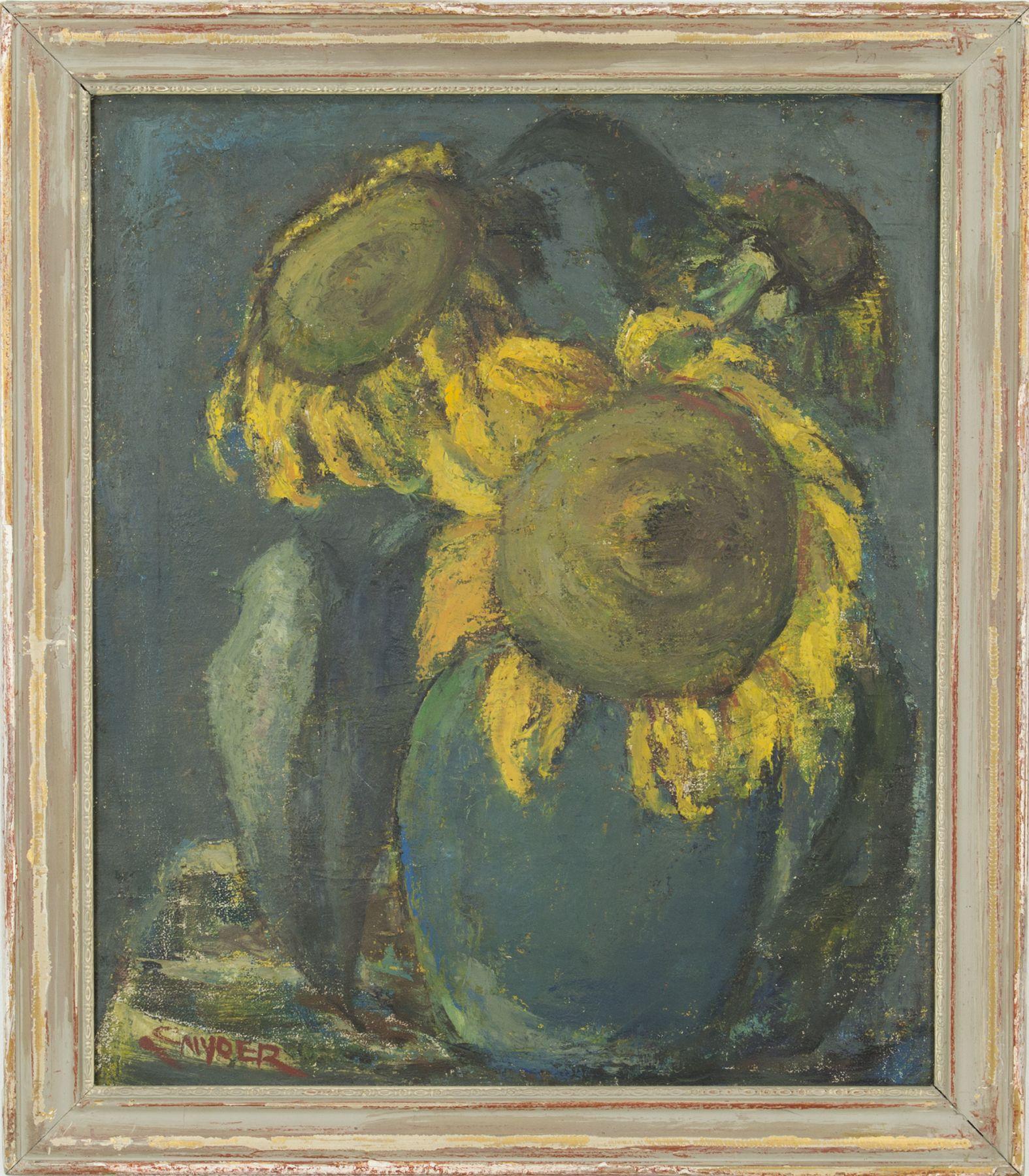 Snyder - Blue Vase