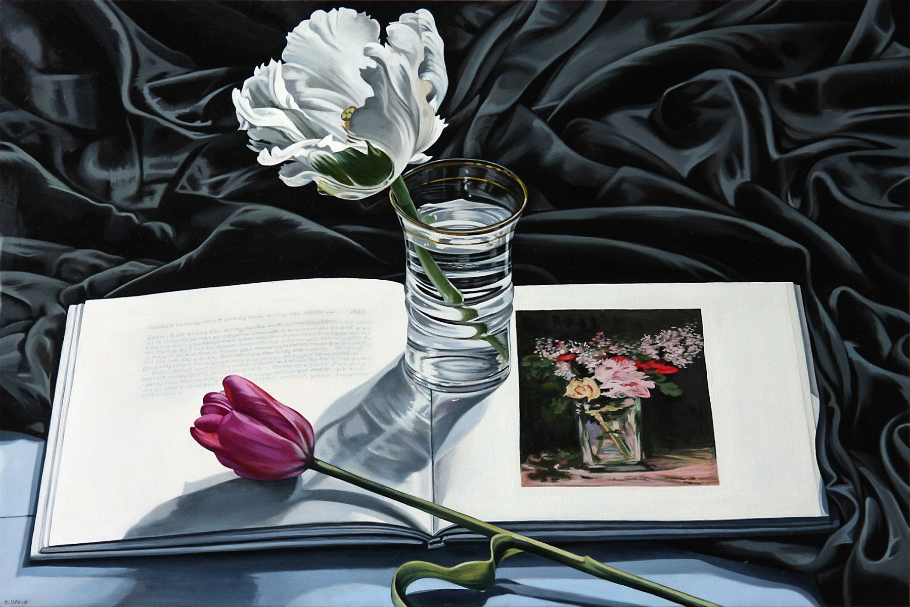 Wolf - Single Tulip with rose et Lilas