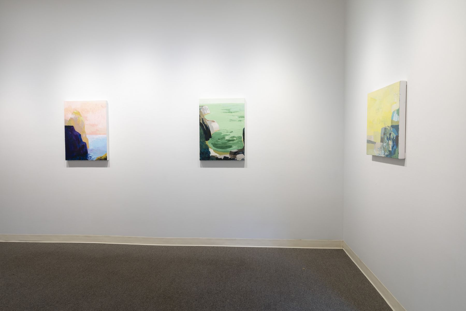 G. Lewis Clevenger | Seascapes | Russo Lee Gallery | Installation View 03