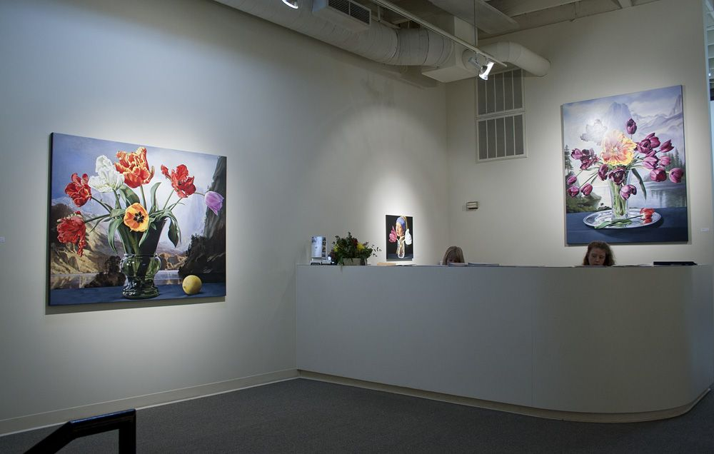 Sherrie Wolf paintings at Laura Russo Gallery 2012