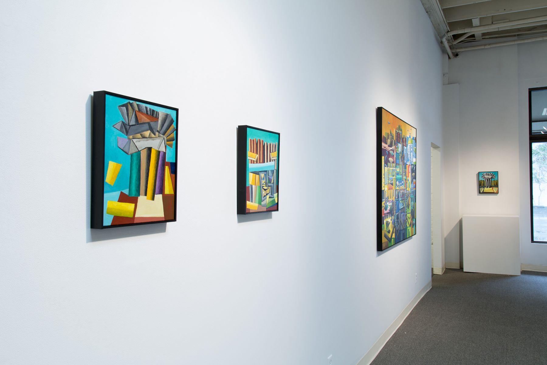 Jackie K. Johnson Installation View March 2016
