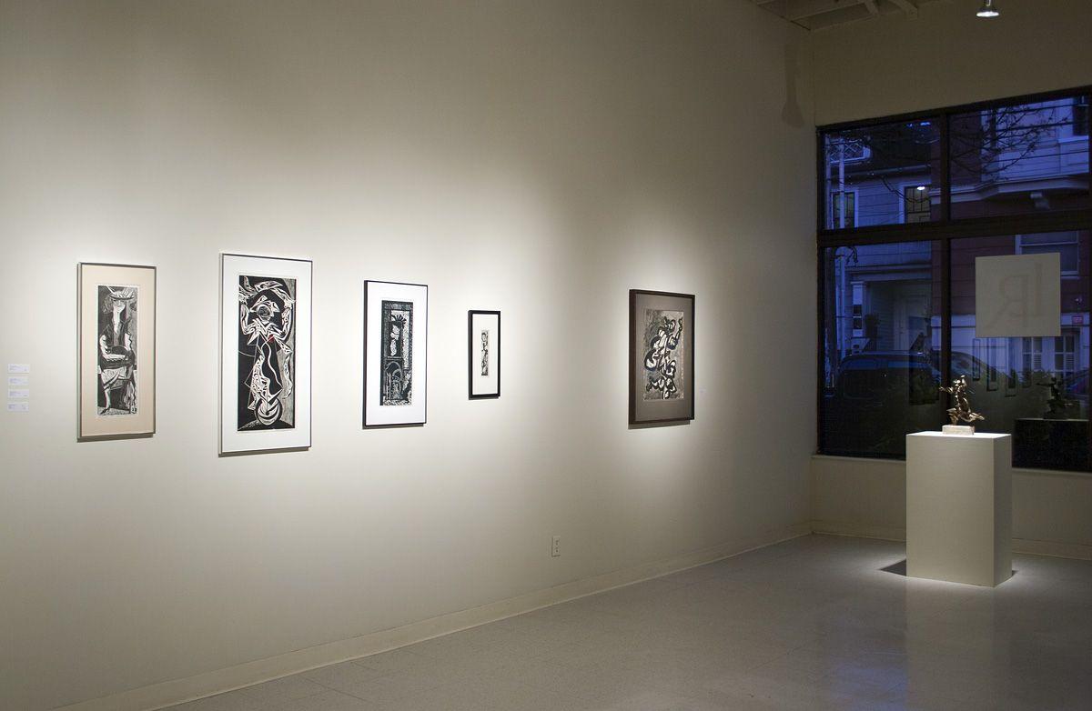 Manuel Izquierdo at Laura Russo Gallery January 2013
