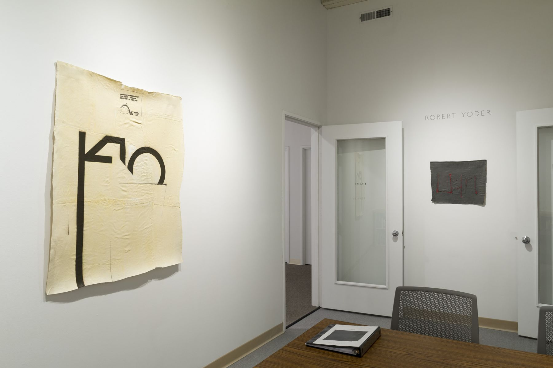 Robert Yoder | Club Number | Installation View 7