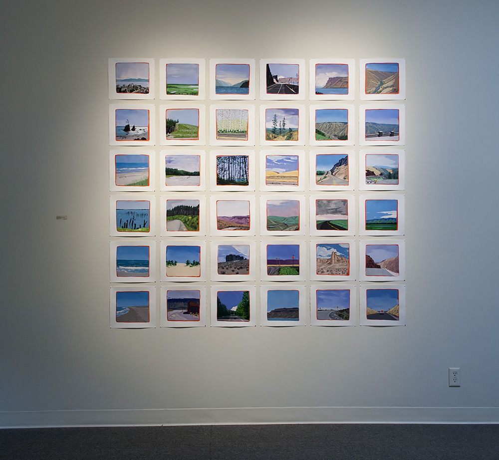 Michael Brophy at Laura Russo Gallery August 2013