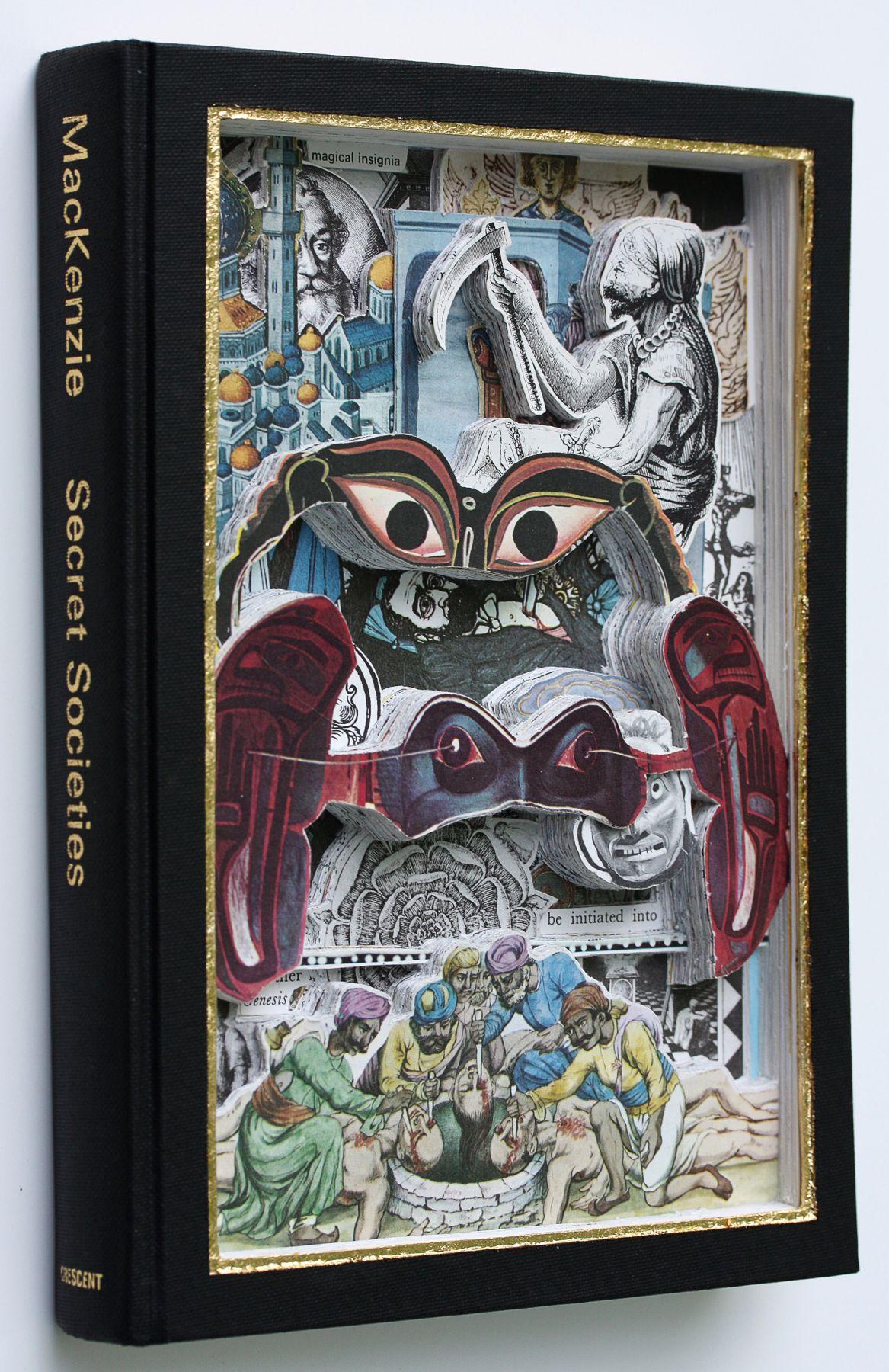 James Allen - Secret Societies book excavation spine view