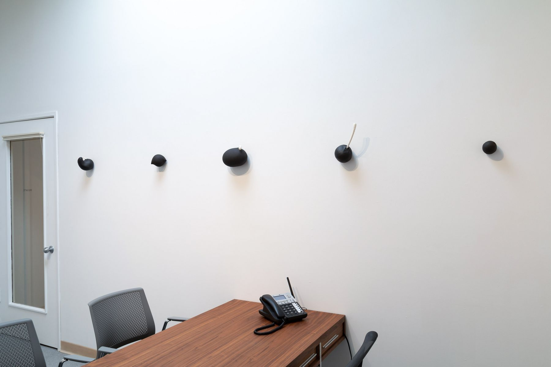 """Maya Vivas - selections from """"i have no choice but to suck the juice out, and who am i to blame"""" - July/August 2019 - Russo Lee Gallery - Installation view 06"""
