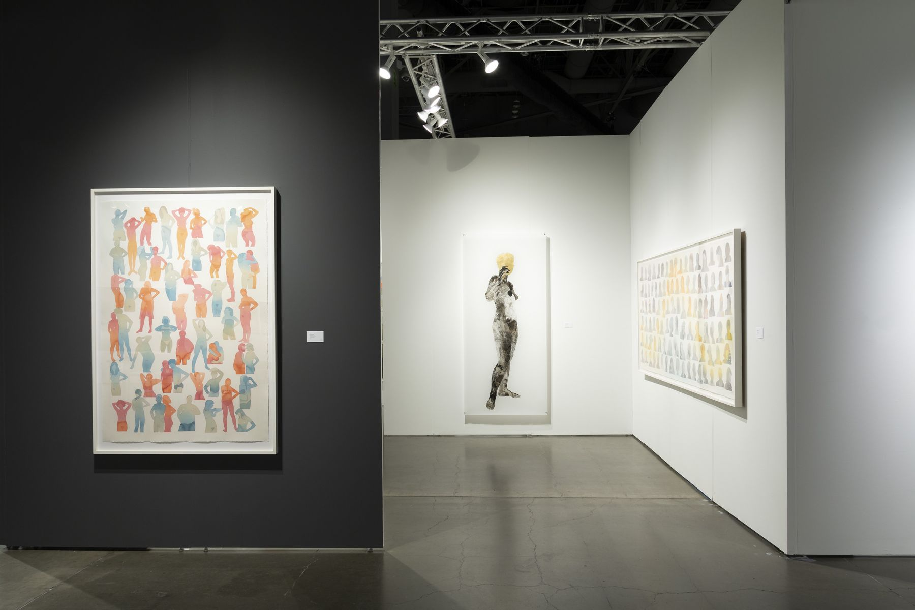Russo Lee Gallery - Seattle Art Fair 2018 - Booth F05_view01