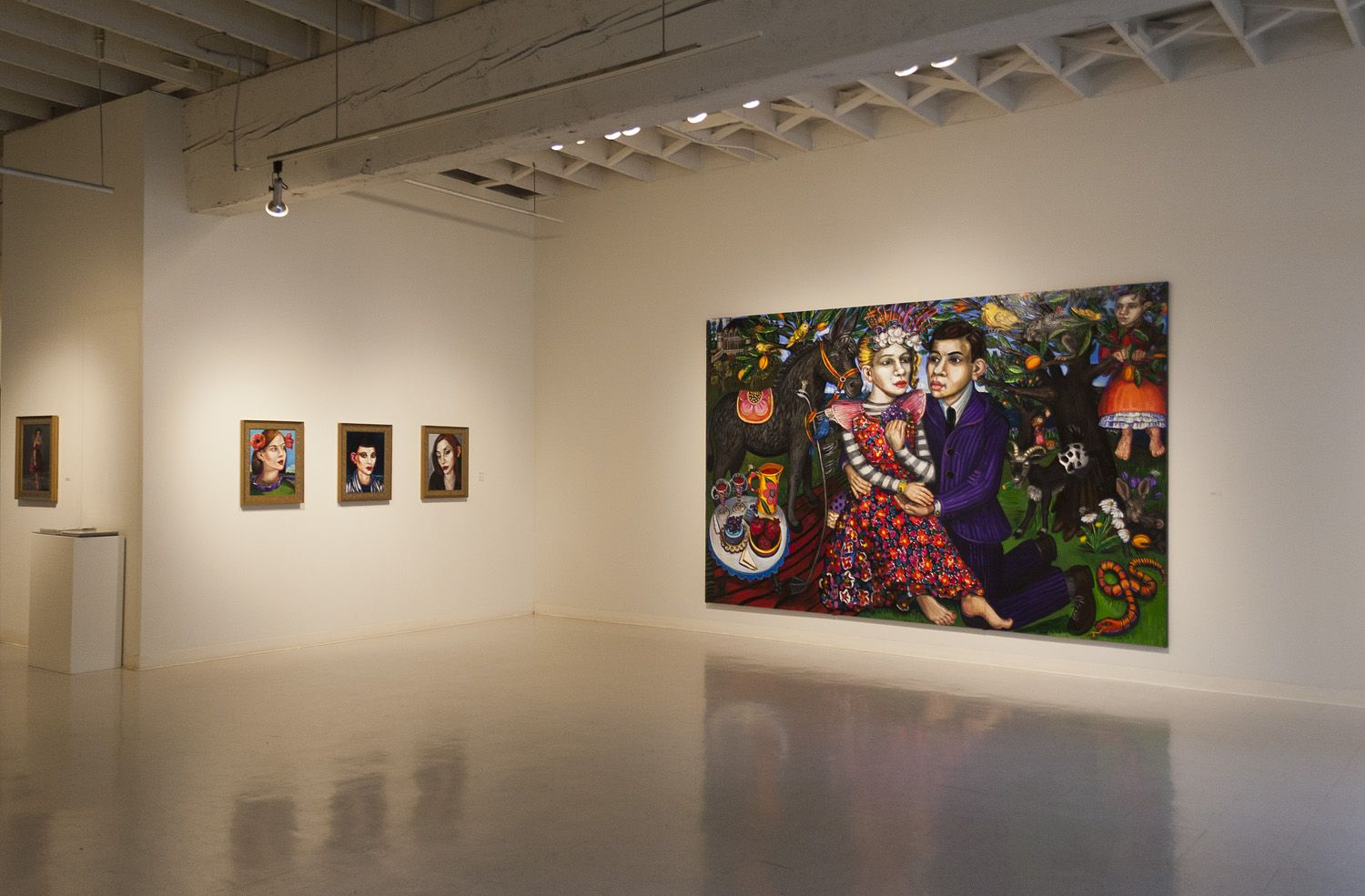 Mary Josephson at Laura Russo Gallery April 2014