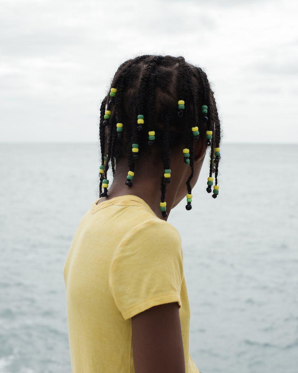 Jasmine Clarke, Olivia, Looking, 2018, Bard x HGG, HOWard Greenberg Gallery, 2019