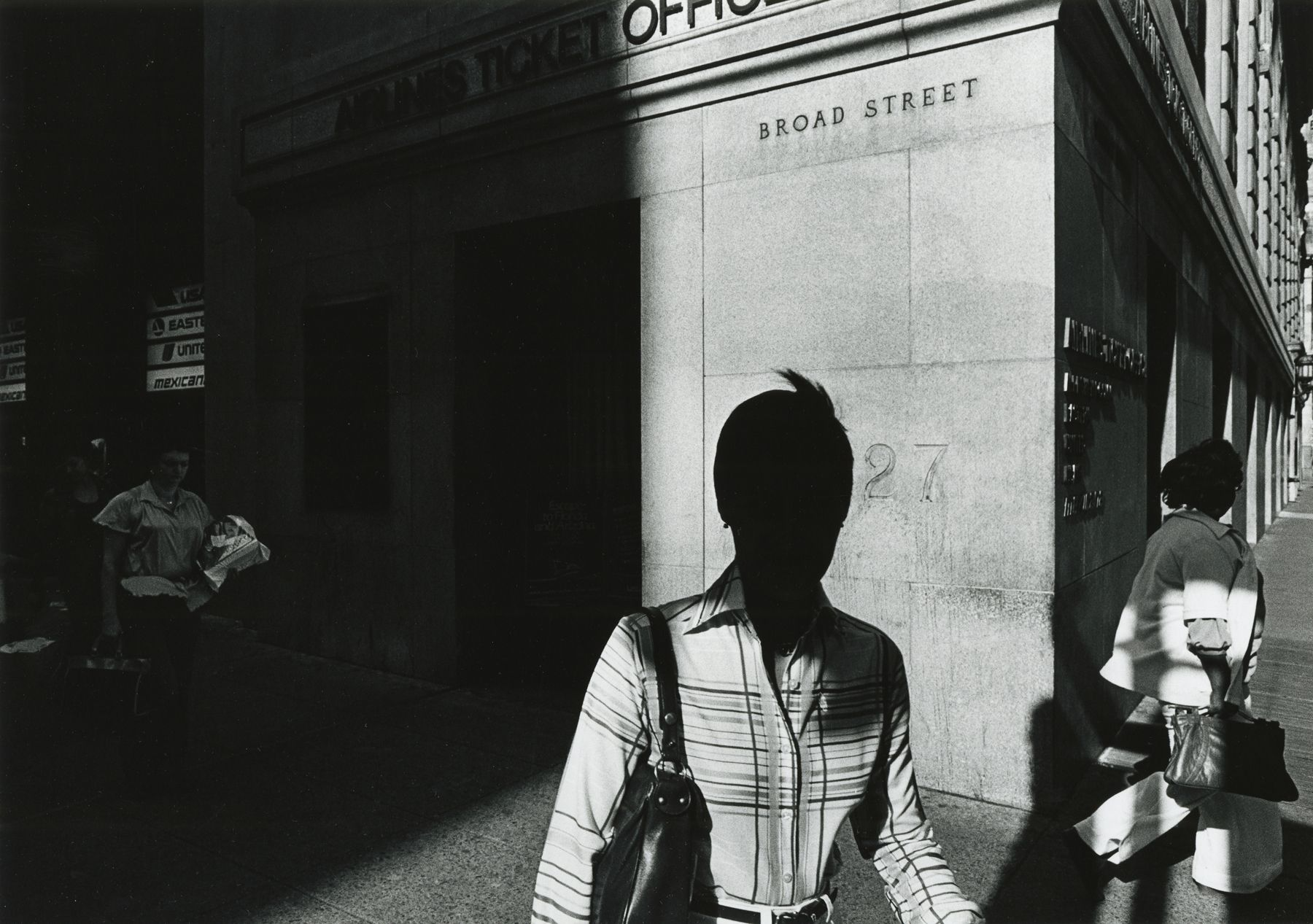 """Ray K. Metzker - 80 DQ-27, from """"City Whispers,"""" 1980 - Howard Greenberg Gallery - 2018"""
