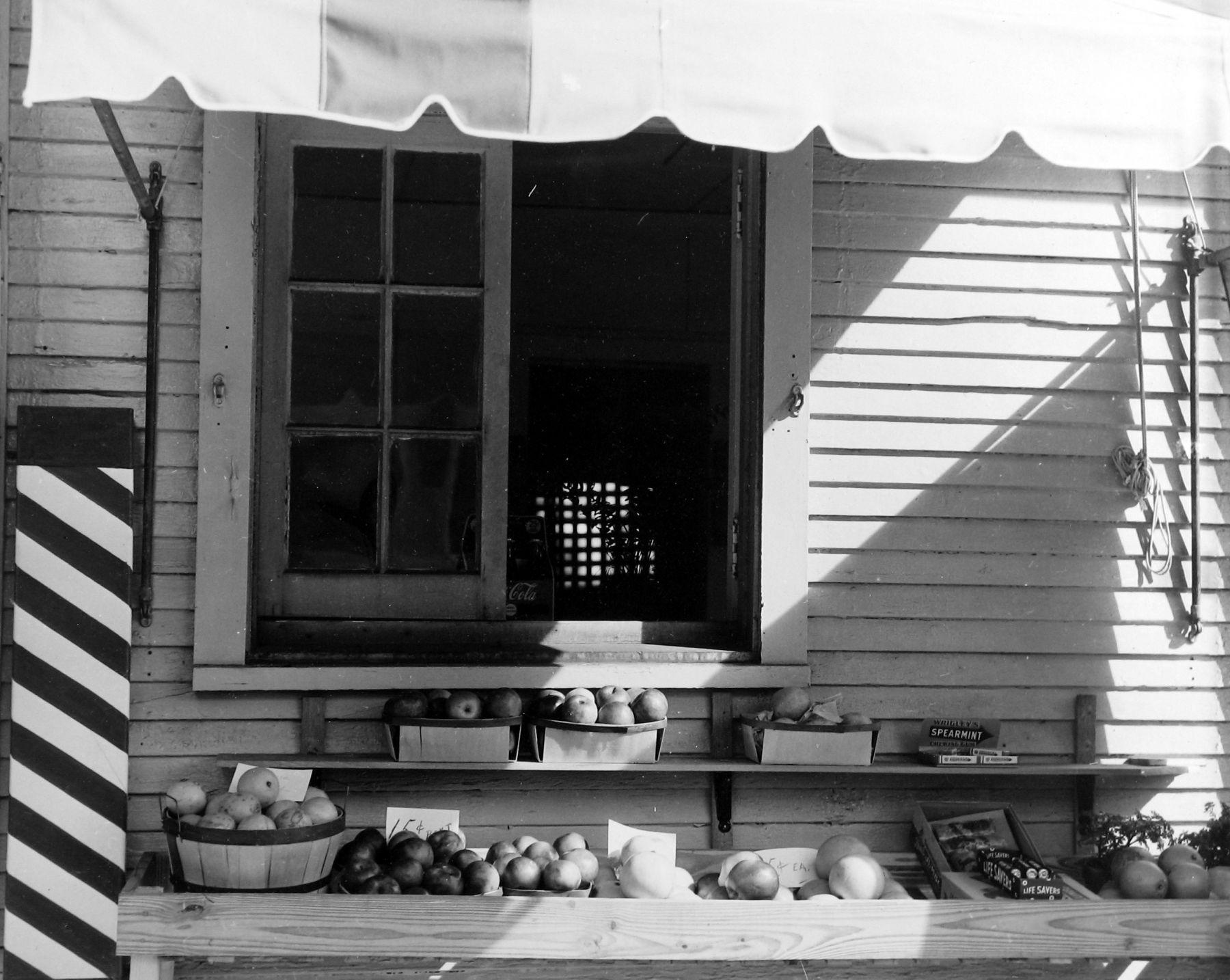 Arnold Newman - Barbershop, West Palm Beach, FL, 1940 - Howard Greenberg Gallery - 2018