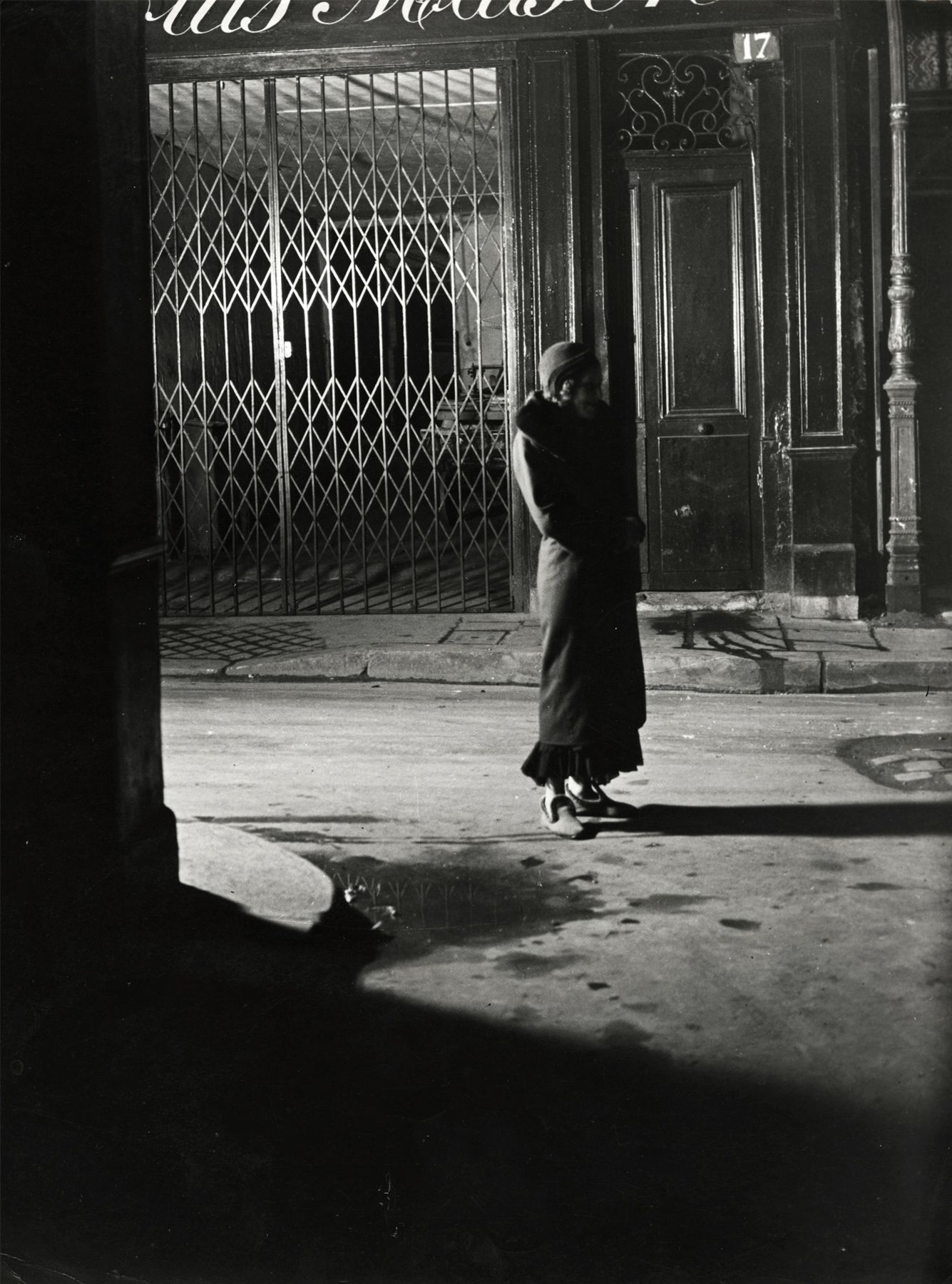 Brassaï - Fille De Joie, Rue Quincampoix, 1931 - Howard Greenberg Gallery