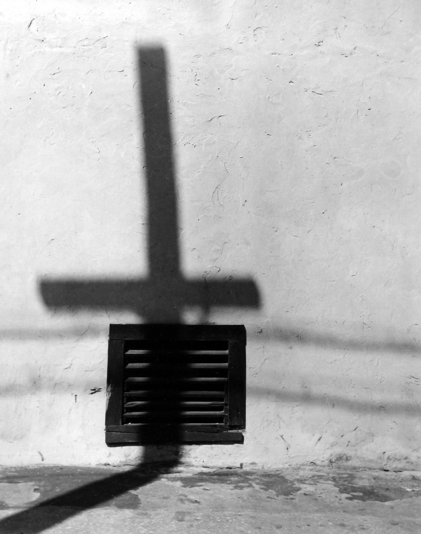 Arnold Newman - Shadow of Light Poles, West Palm Beach, FL, 1941 - Howard Greenberg Gallery - 2018