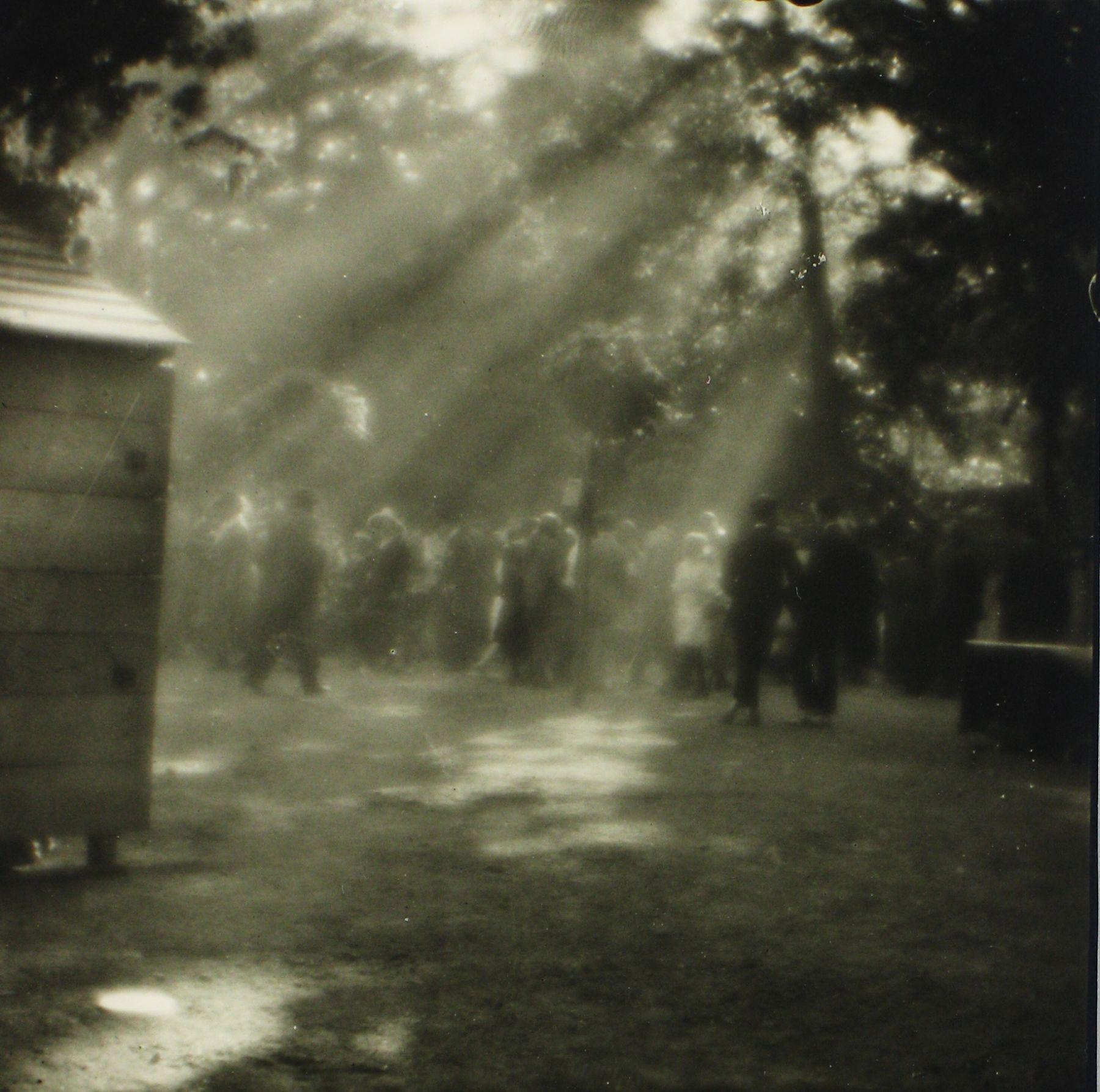 Josef Sudek - Sunday Afternoon on Kolin Island, c.1922 - Howard Greenberg Gallery