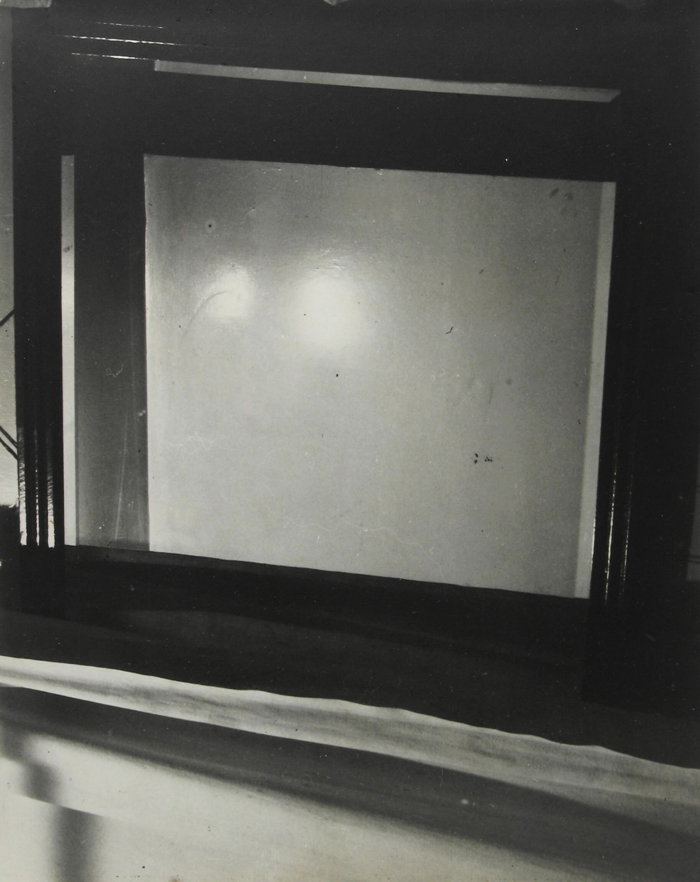 Arnold Newman - Mirror Abstract, Baltimore, MD, 1939 - Howard Greenberg Gallery - 2018