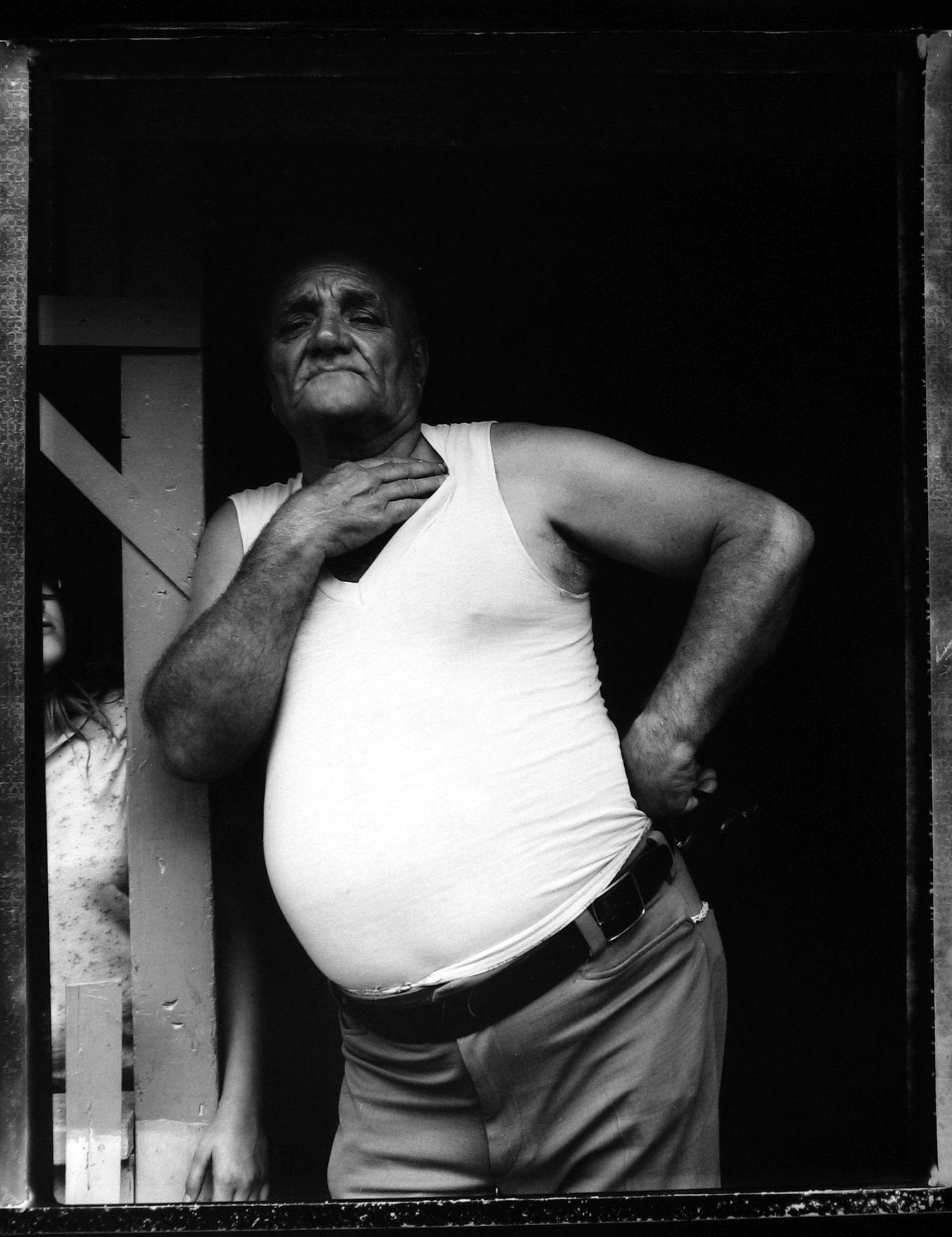 Bill Burke - Reverend William Beegle, Bellaire, Ohio, 1979 - Howard Greenberg Gallery - 2018