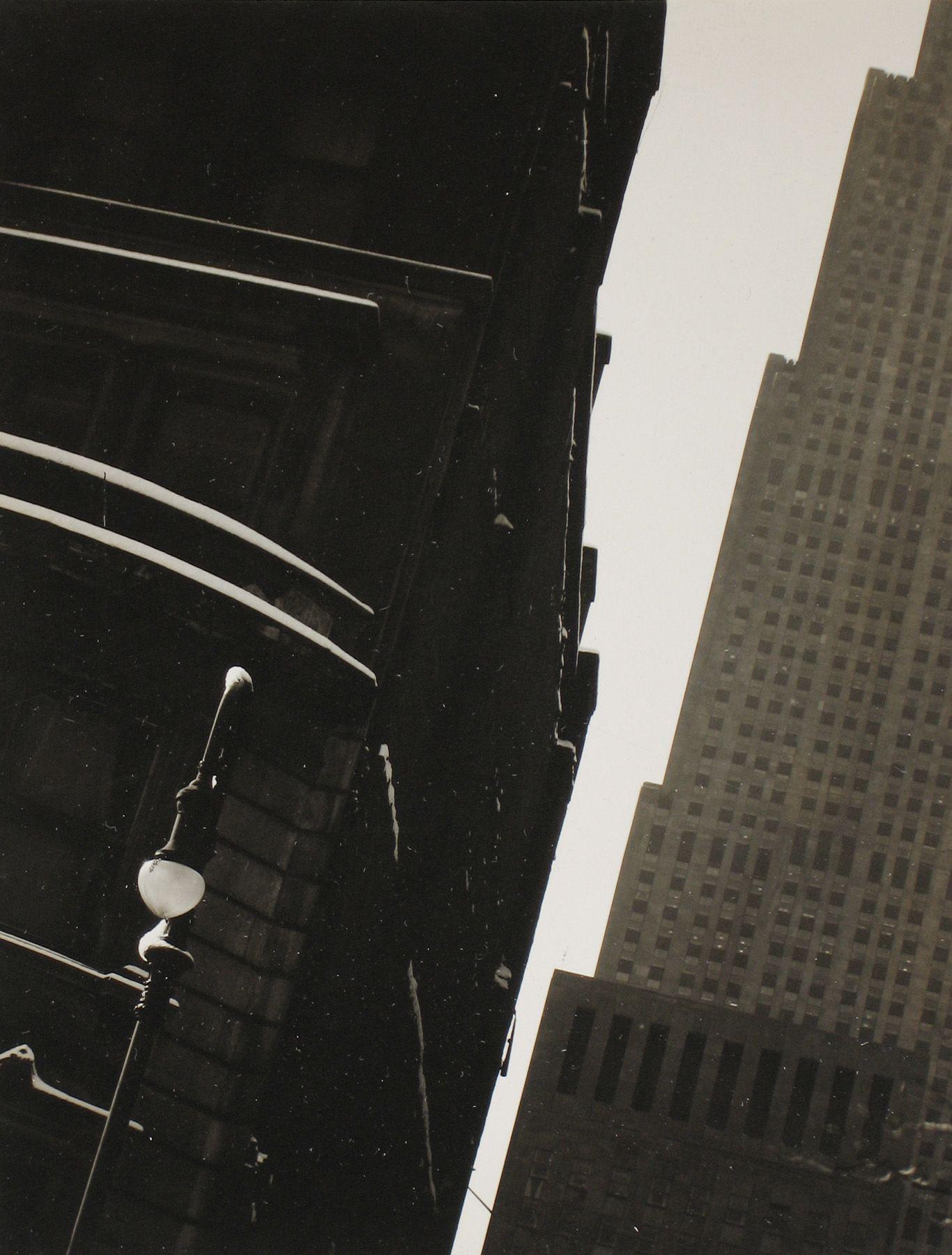 Minor White - West 53rd Street, New York City, 1946 - Howard Greenberg Gallery