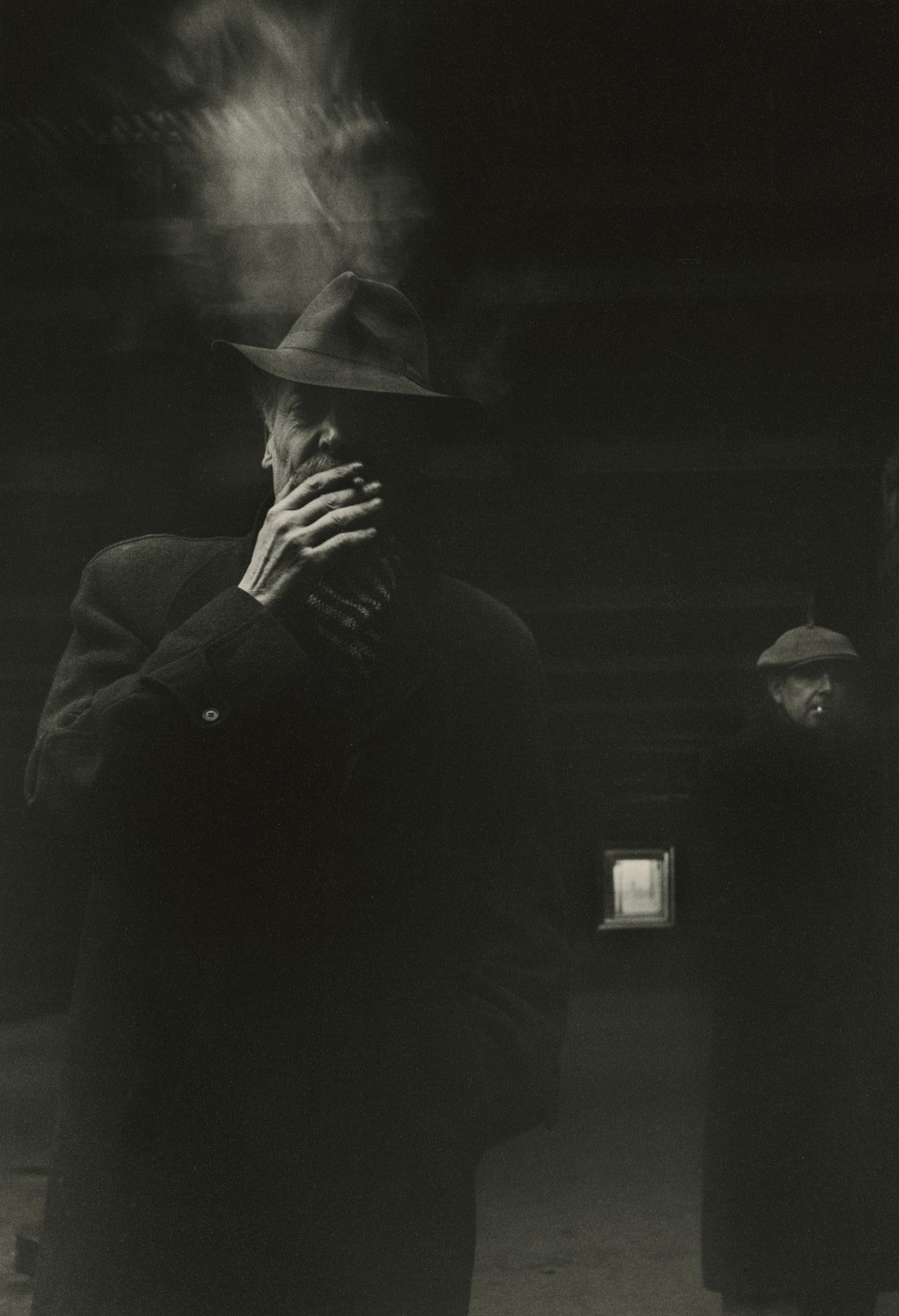 Robert Doisneau - Two Men Smoking - Howard Greenberg Gallery - 2018