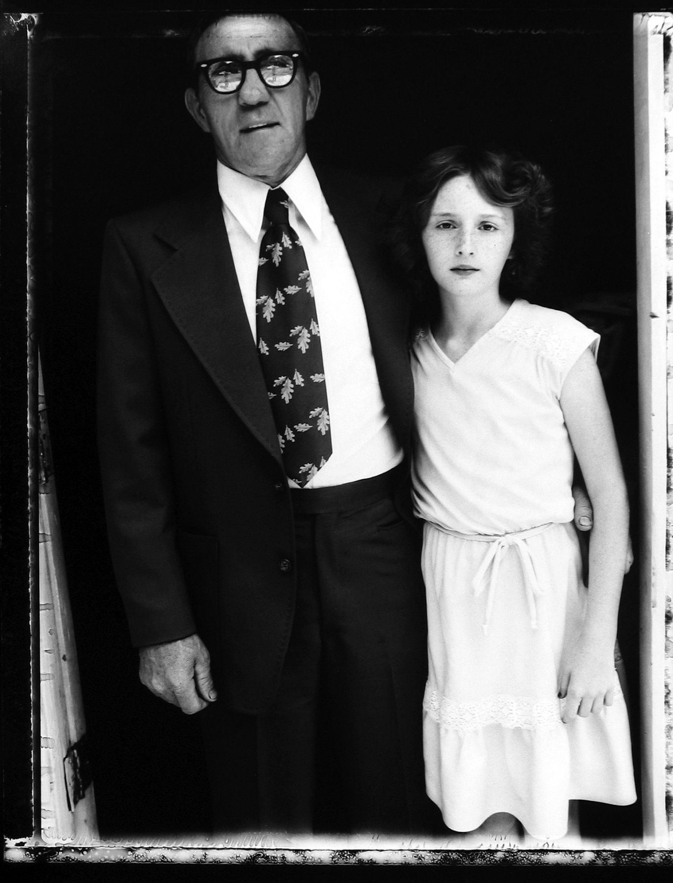 Bill Burke - Reverend Robert Elkins and niece, Church of Jesus Name, Jolo, West Virginia, 1979 - Howard Greenberg Gallery - 2018