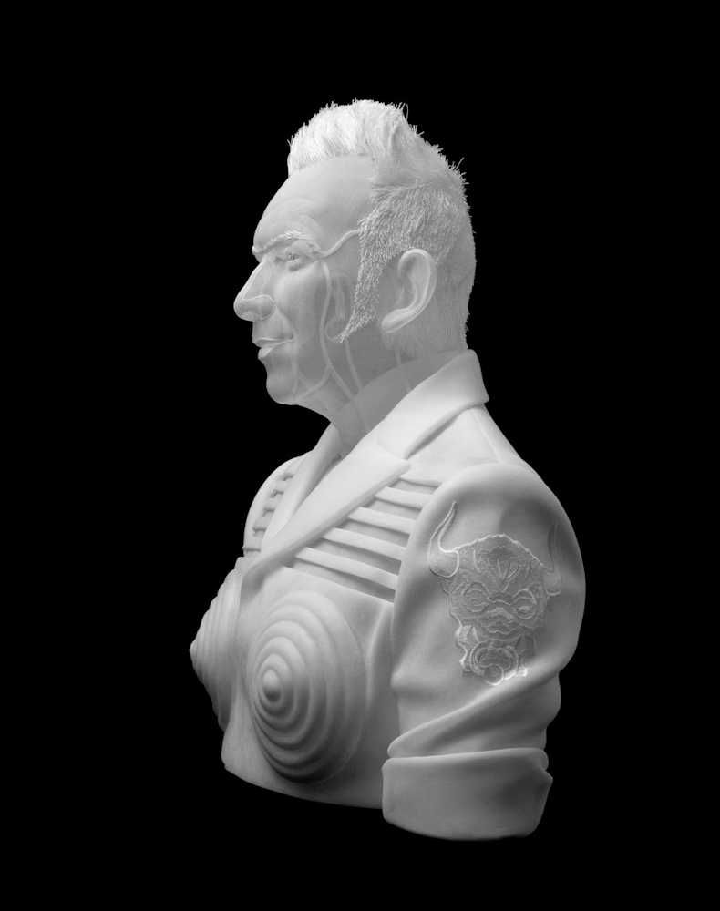 Angélique Jean Paul Gaultier 2015 sculpture organdy organdi