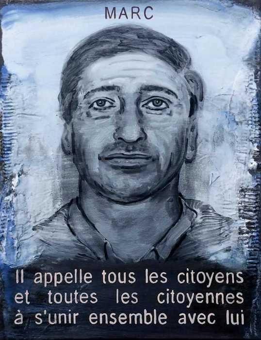 Pierre Lamalattie Marc 2016 curriculum vitae painting peinture